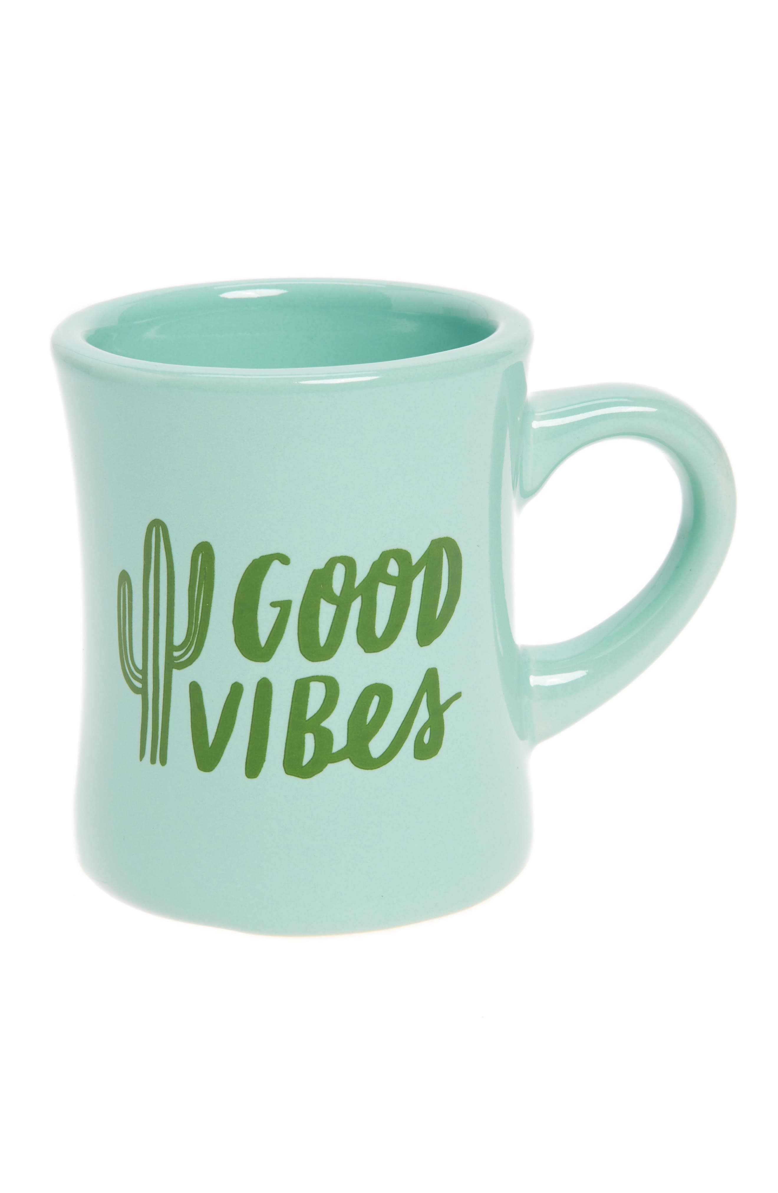 The Created Co. Good Vibes Ceramic Mug