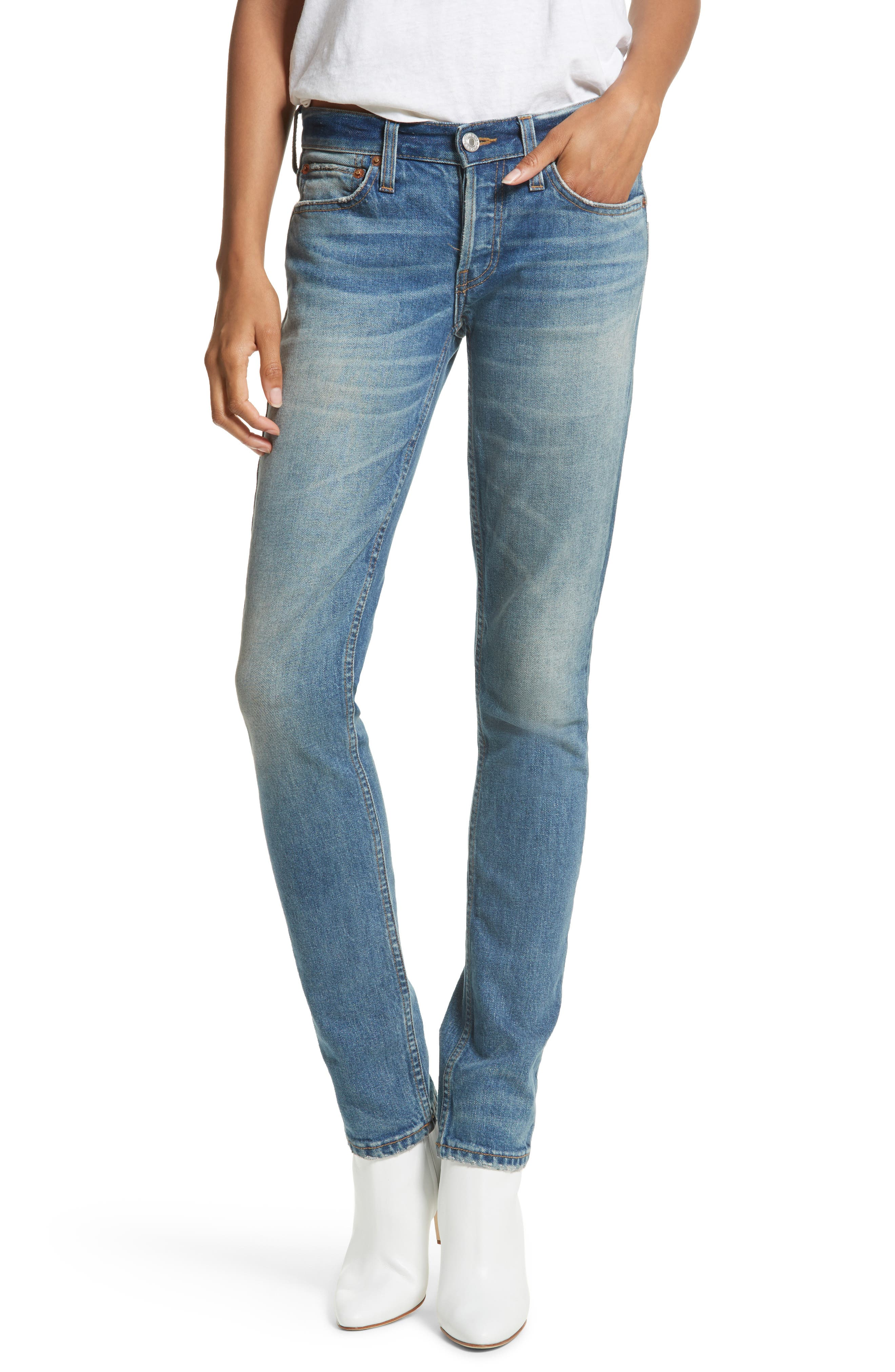 Re/Done Originals Low Rise Stack Jeans