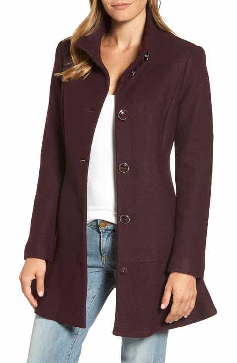 Women's Purple Wool Coats | Nordstrom