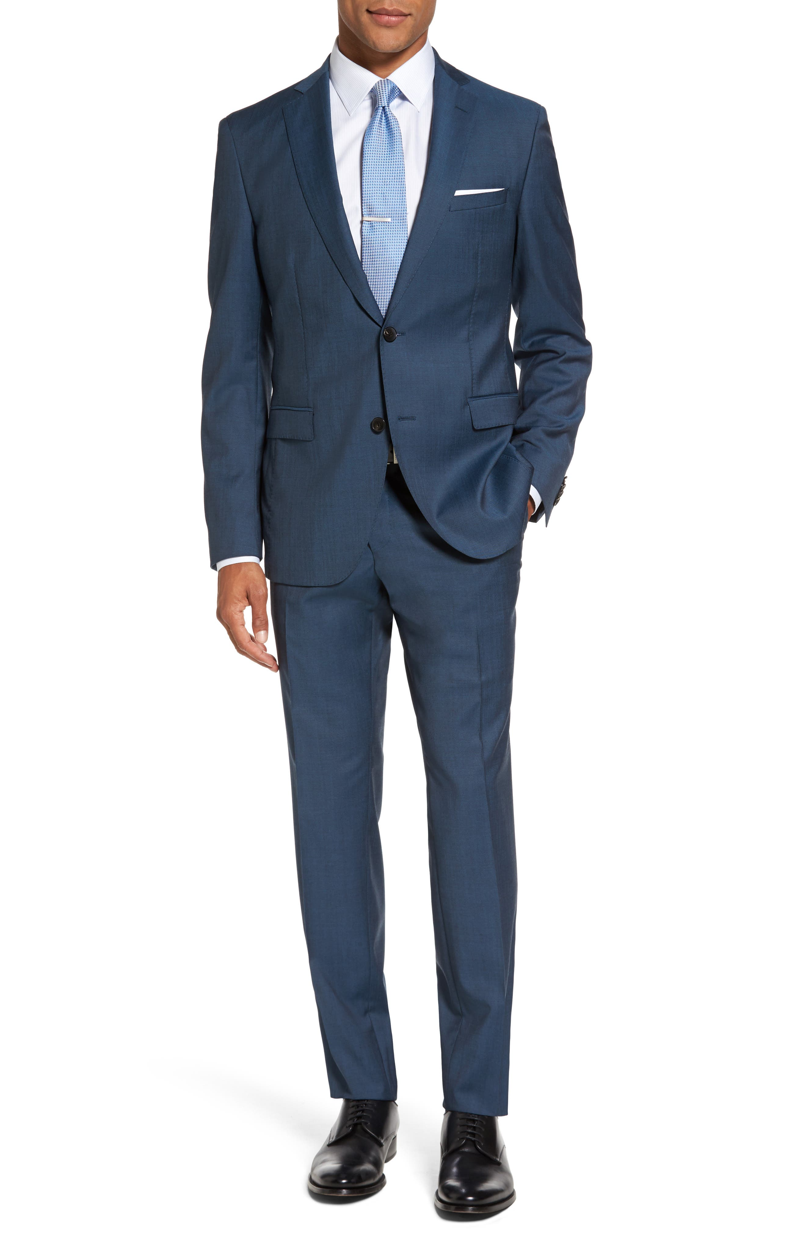BOSS Reyno/Wave Trim Fit Suit