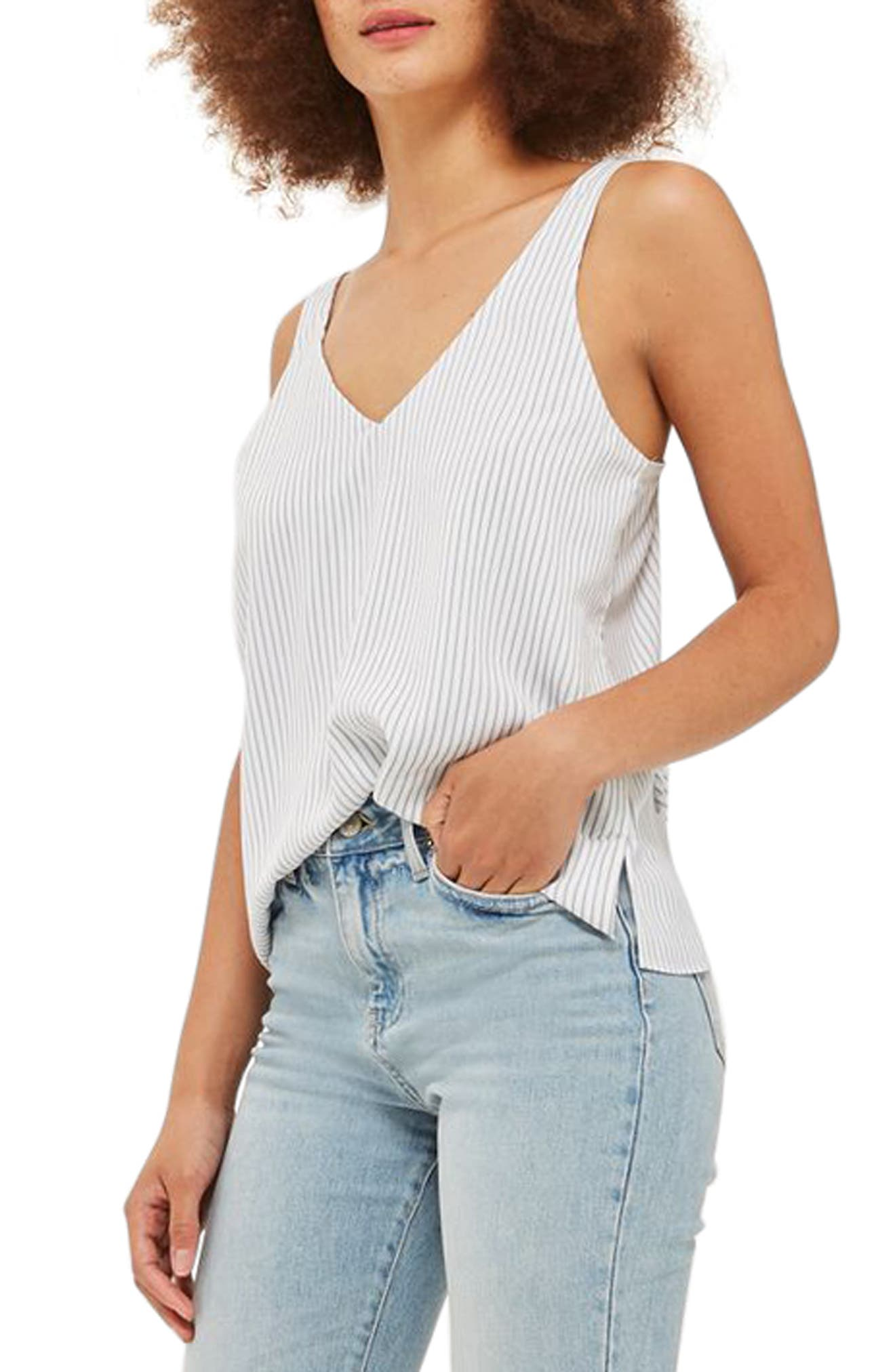 Topshop Stripe Camisole Top