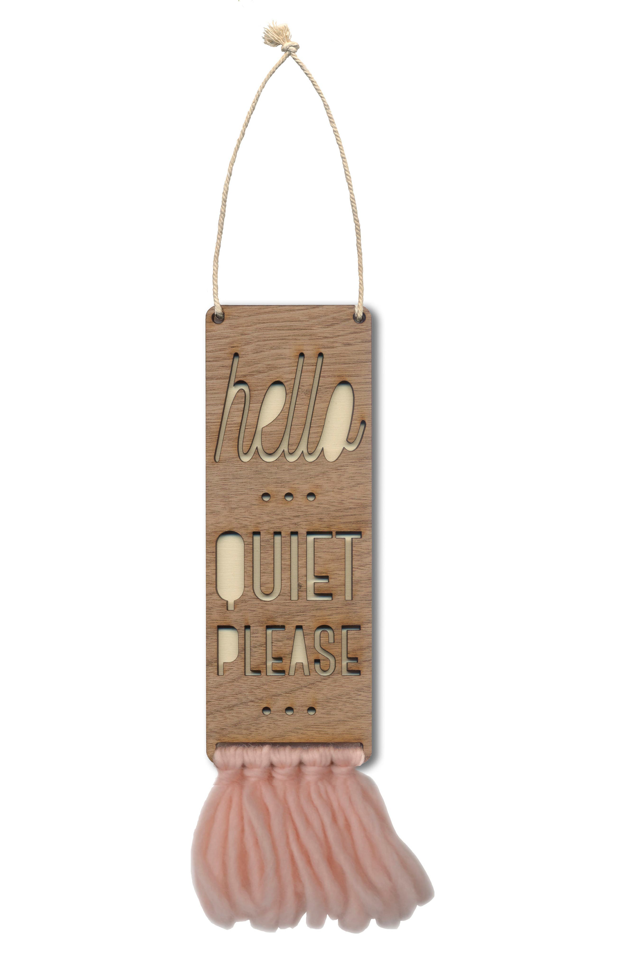 Tree by Kerri Lee Hello Quiet Please Door Sign