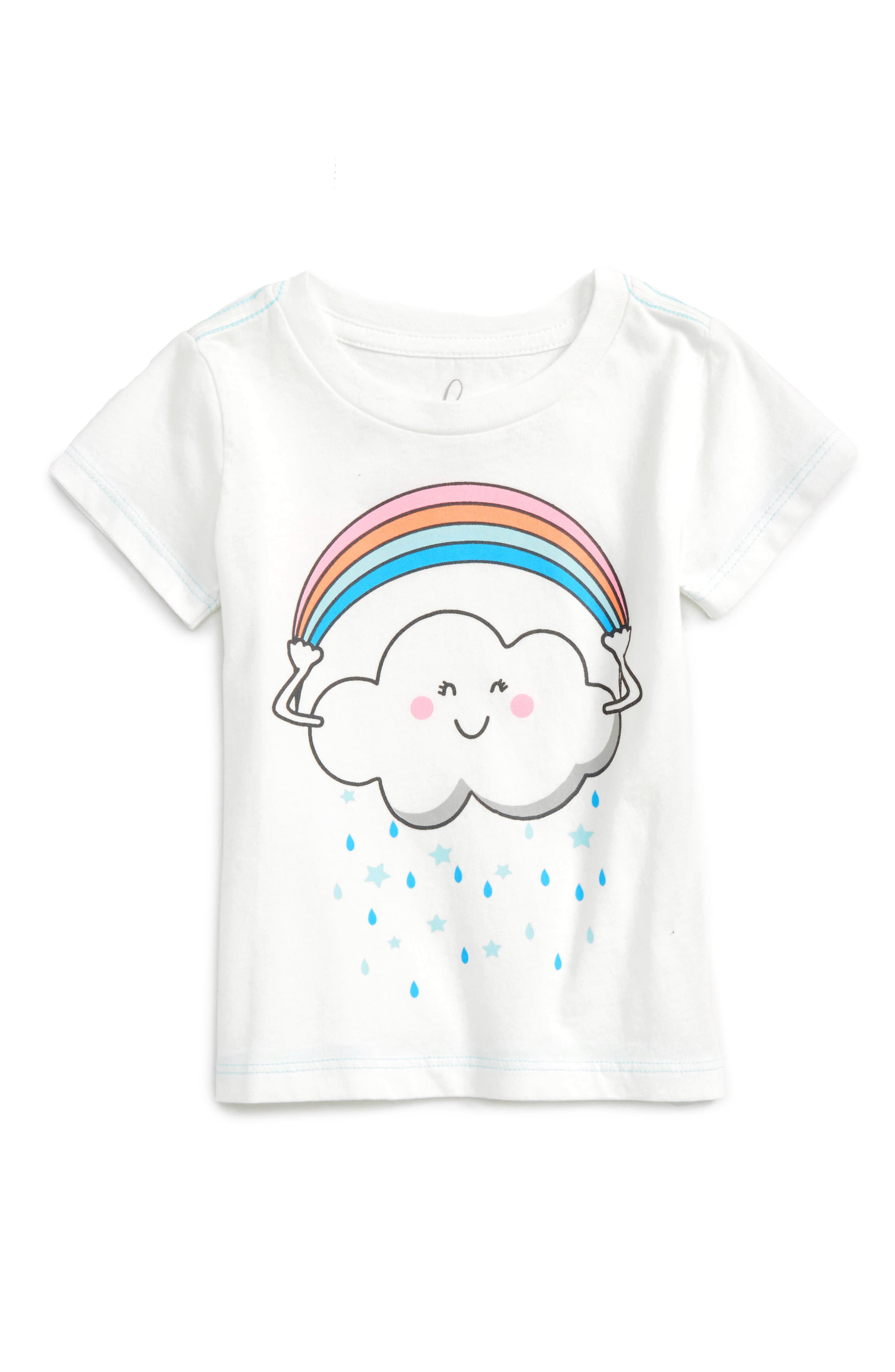 Peek Rainbow Cloud Tee (Baby)