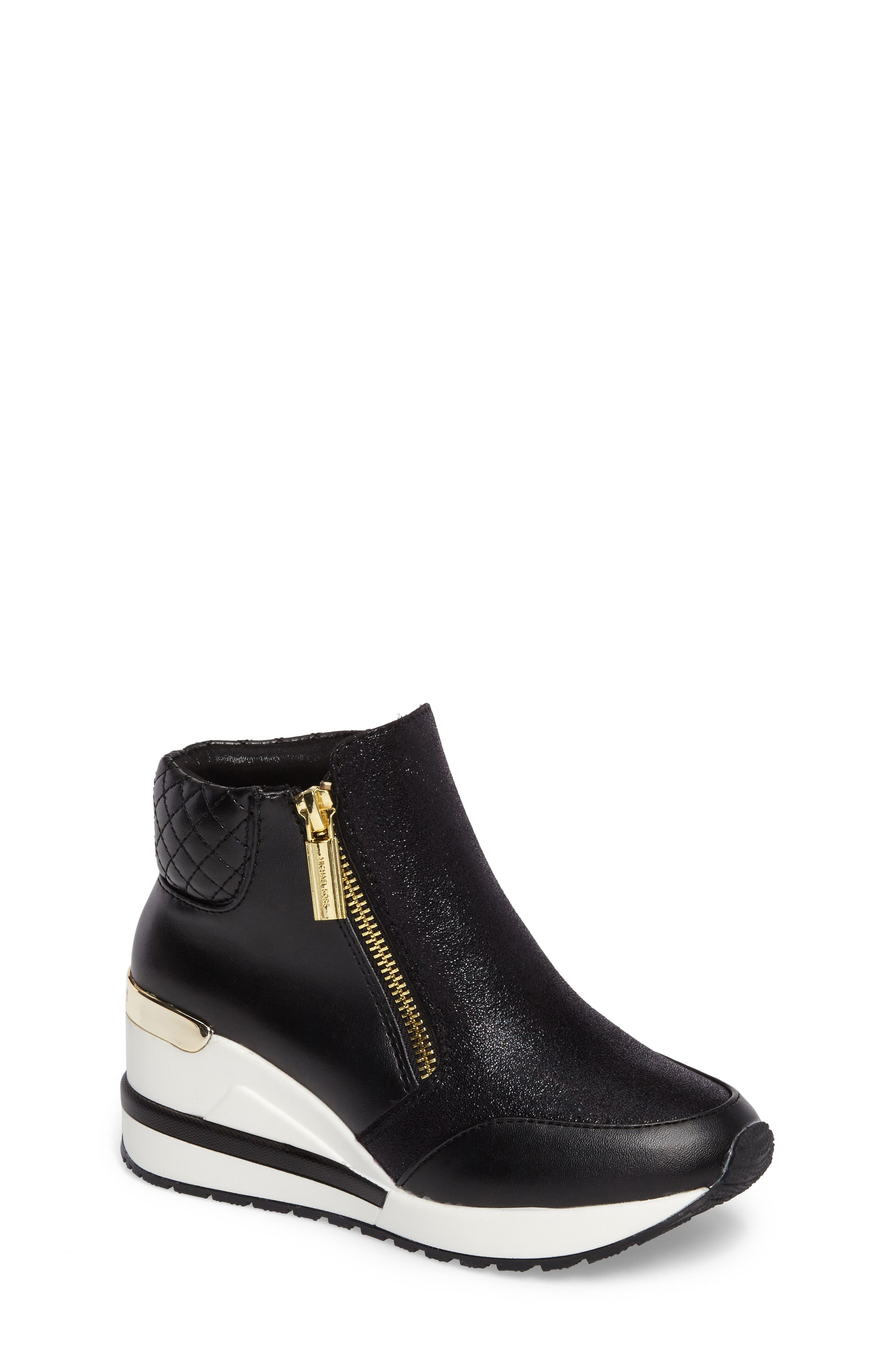 MICHAEL Michael Kors Neo Gege Wedge Sneaker Bootie (Toddler, Little Kid & Big Kid)