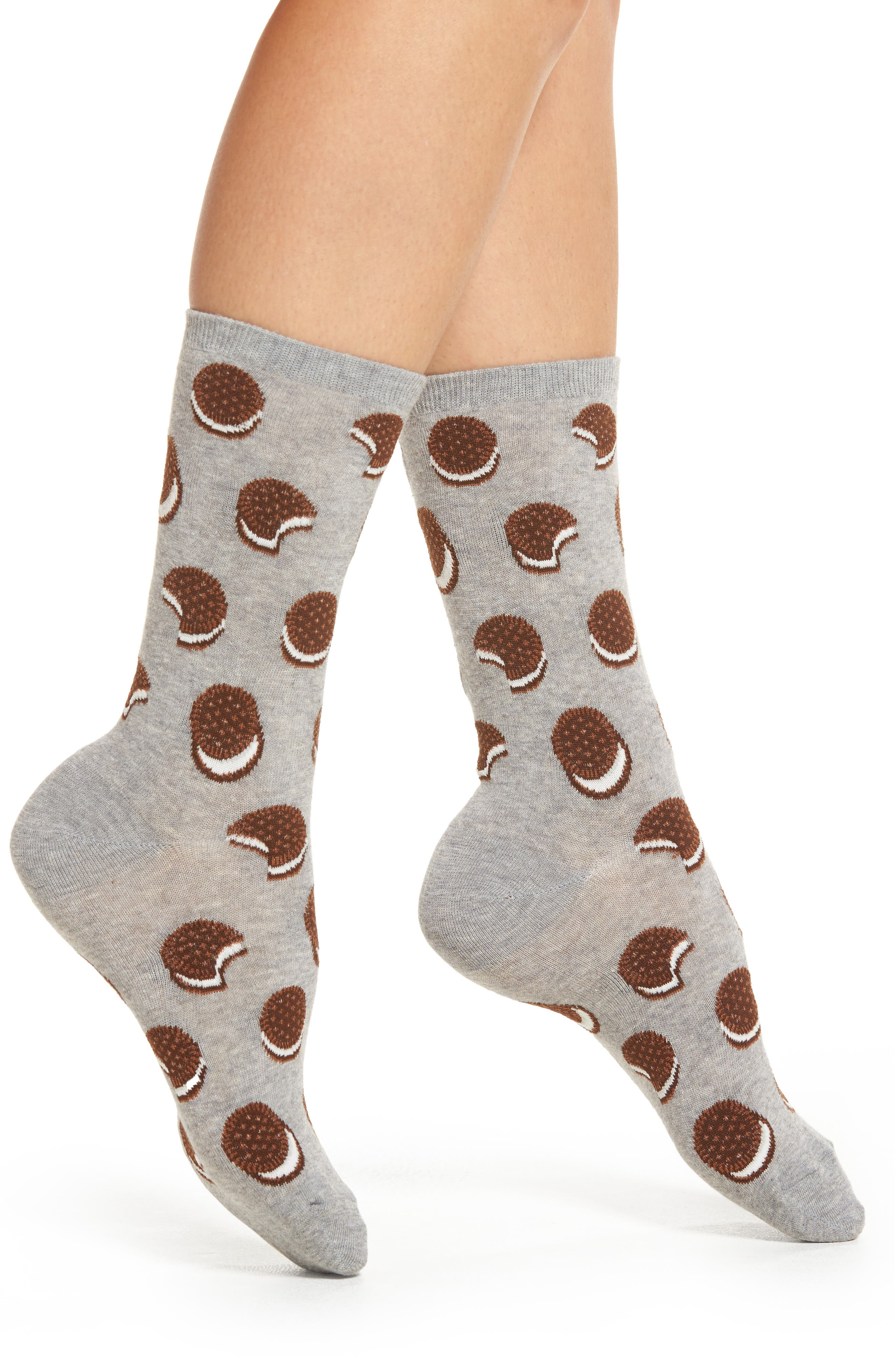 Hot Sox Sandwich Cookie Crew Socks (3 for $15)