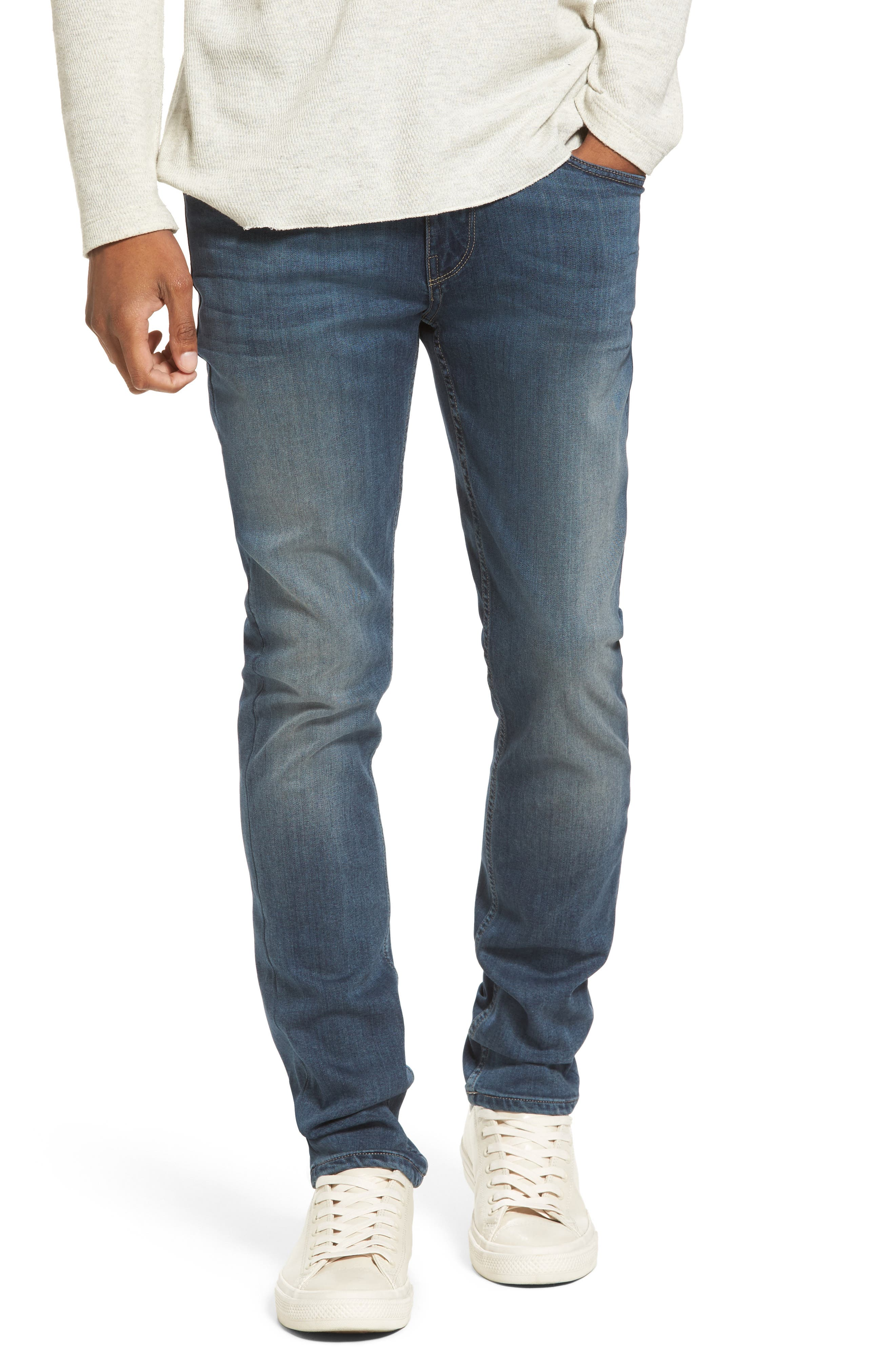 PAIGE Transcend - Croft Skinny Fit Jeans (Carlyle)