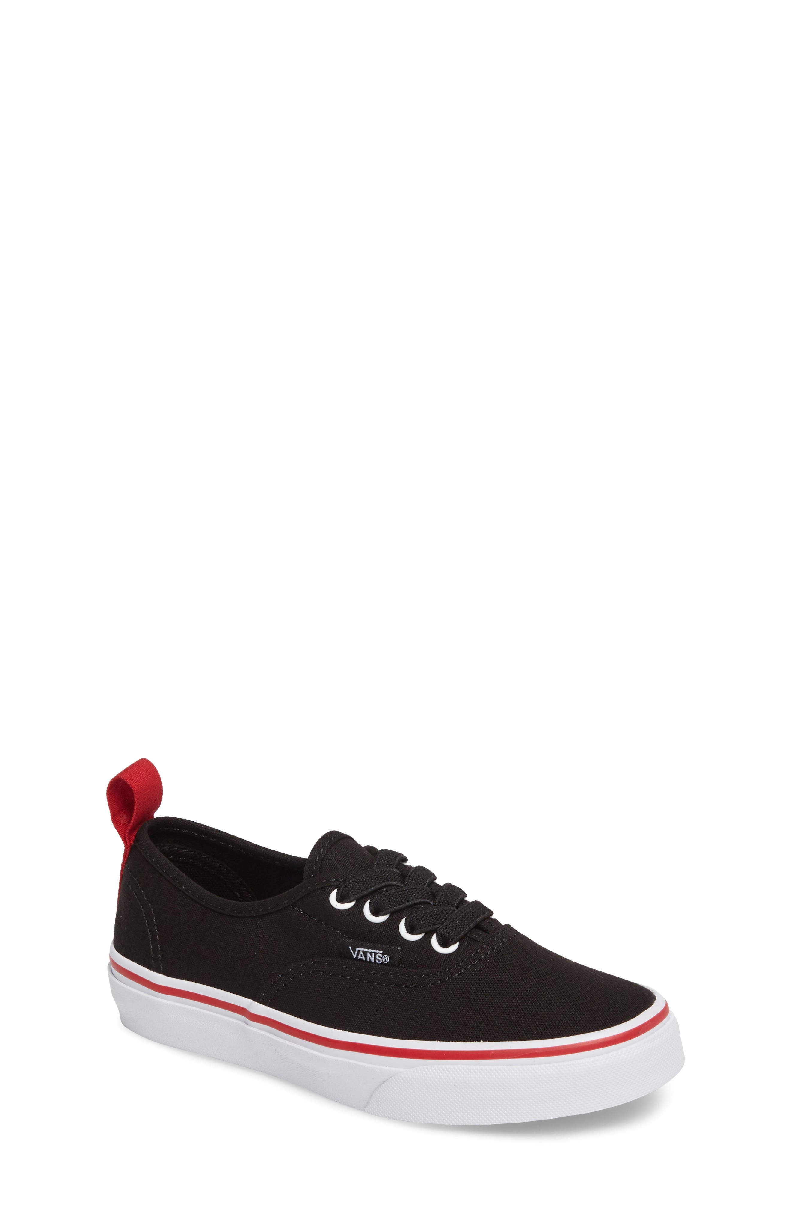Vans Authentic Elastic Lace Sneaker (Baby, Walker, Toddler, Little Kid & Big Kid)