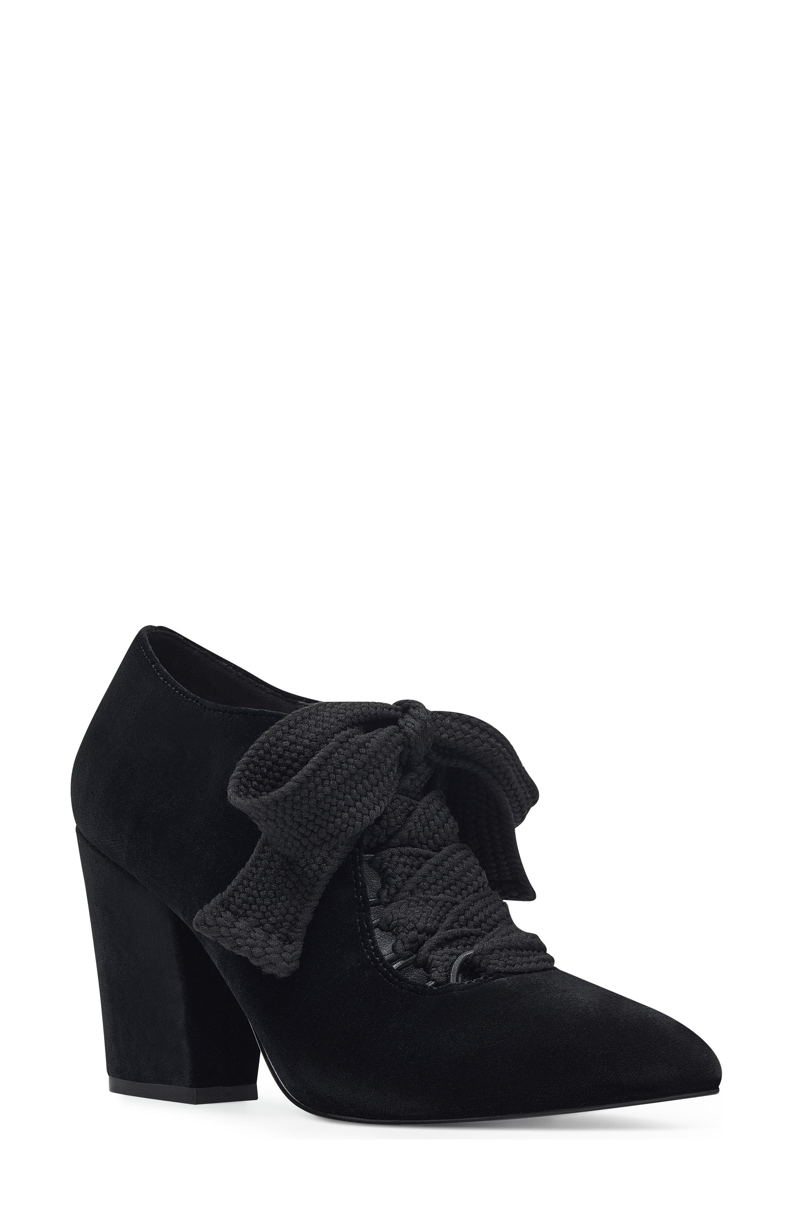 Nine West Sweeorn Lace-Up Bootie (Women)