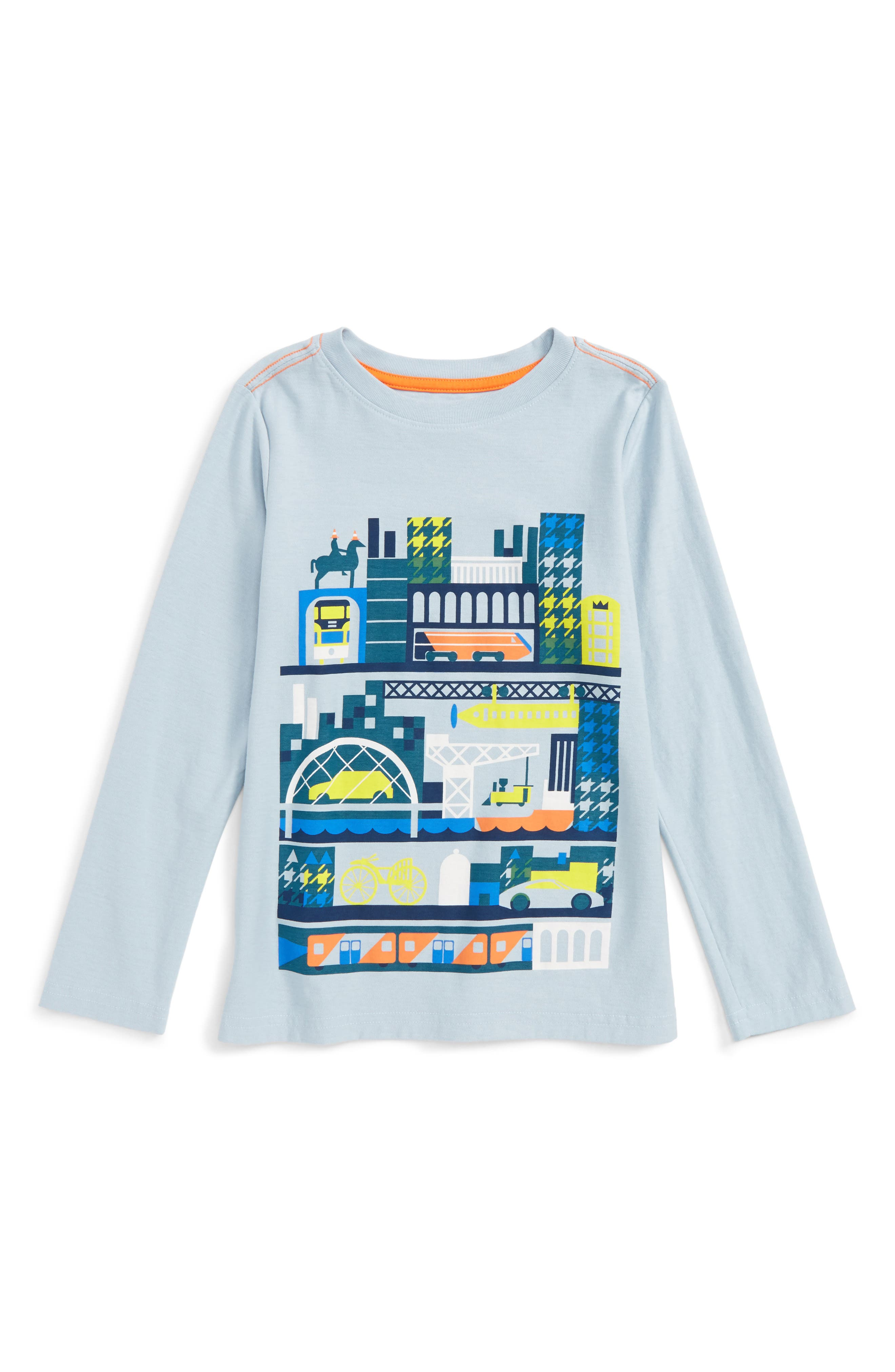 Tea Collection Glasgow Tour Graphic T-Shirt (Toddler Boys & Little Boys)