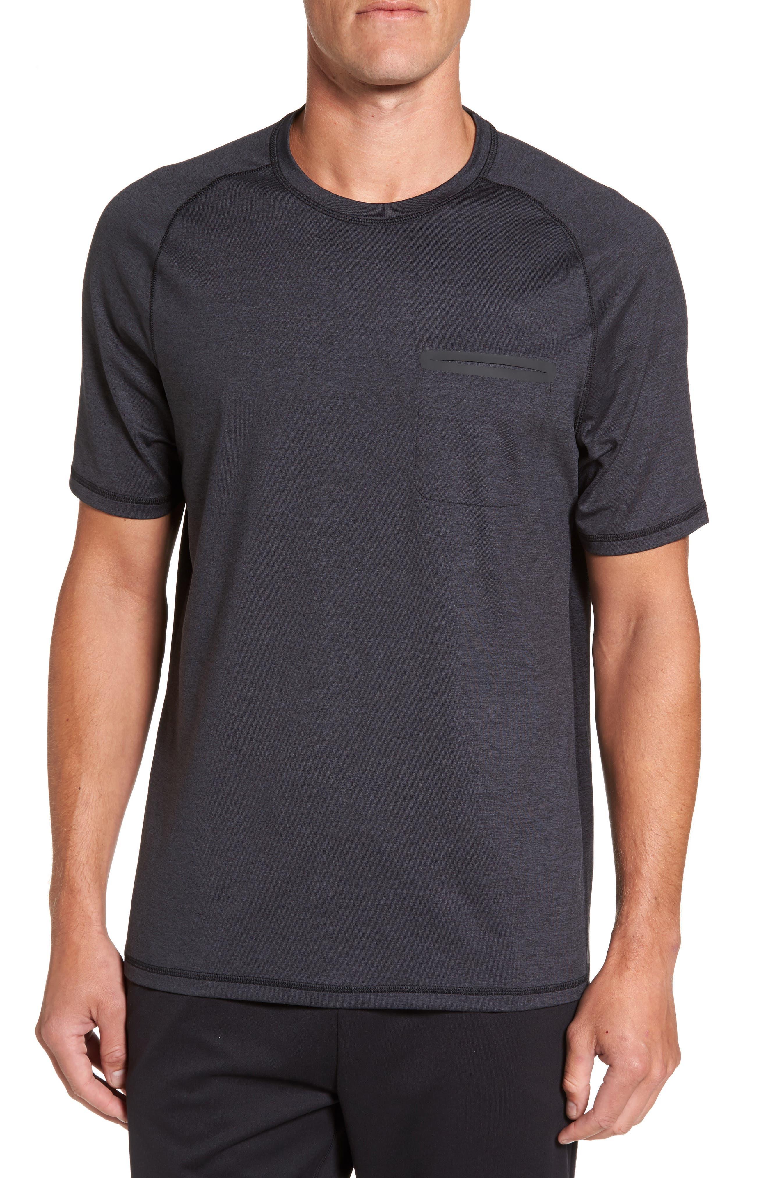 Zella Celsian Moisture Wicking Pocket T-Shirt