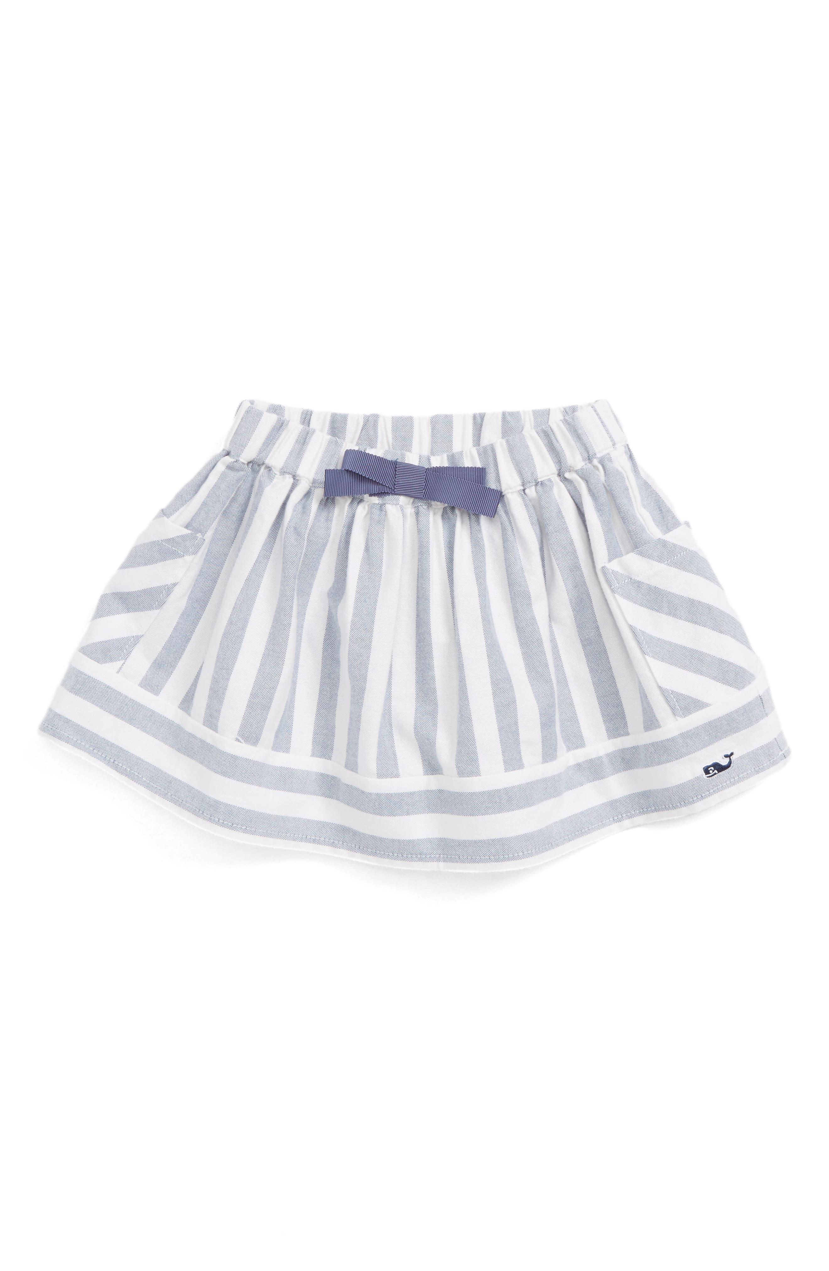 Vineyard Vines Coastside Stripe Skirt (Toddler Girls)
