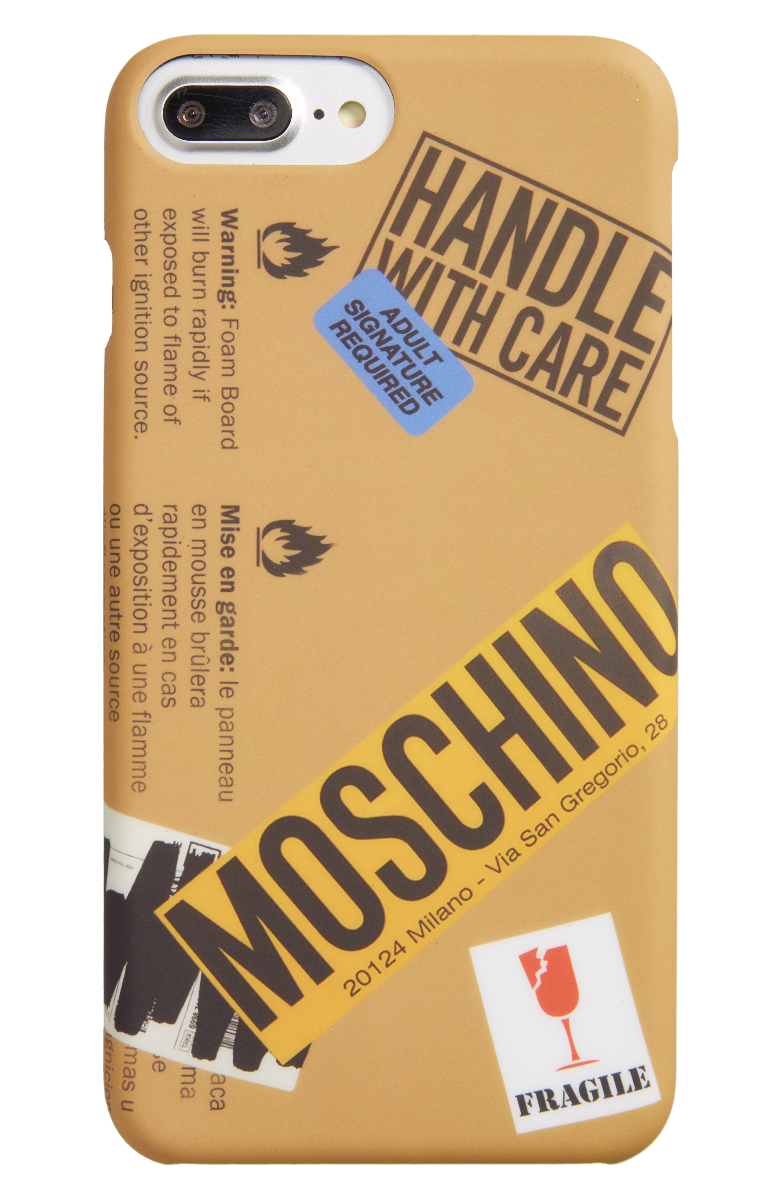Moschino Package iPhone 6/6S Plus & 7 Plus Case