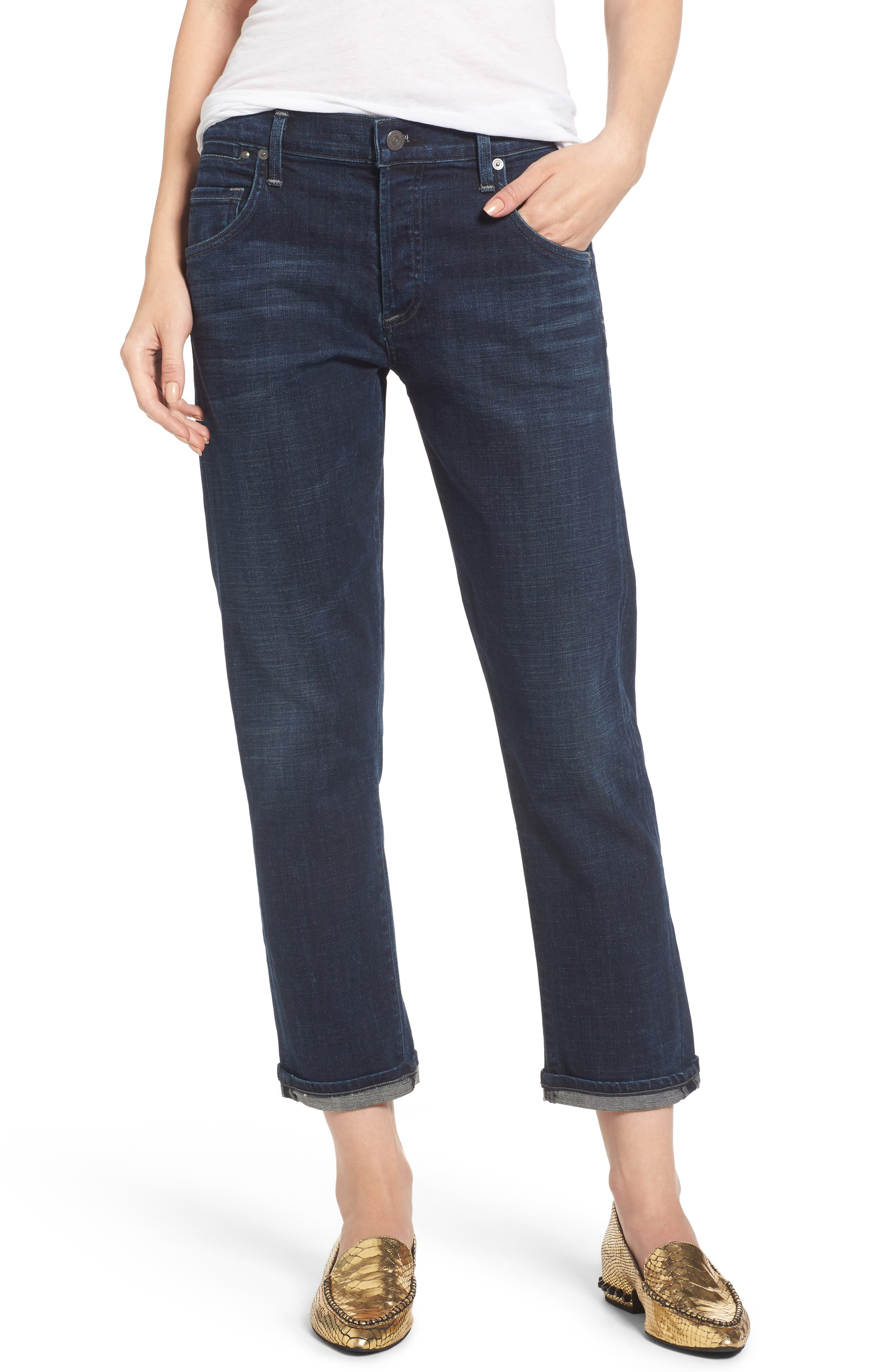 Citizens of Humanity Emerson Slim Boyfriend Jeans (Oakridge)