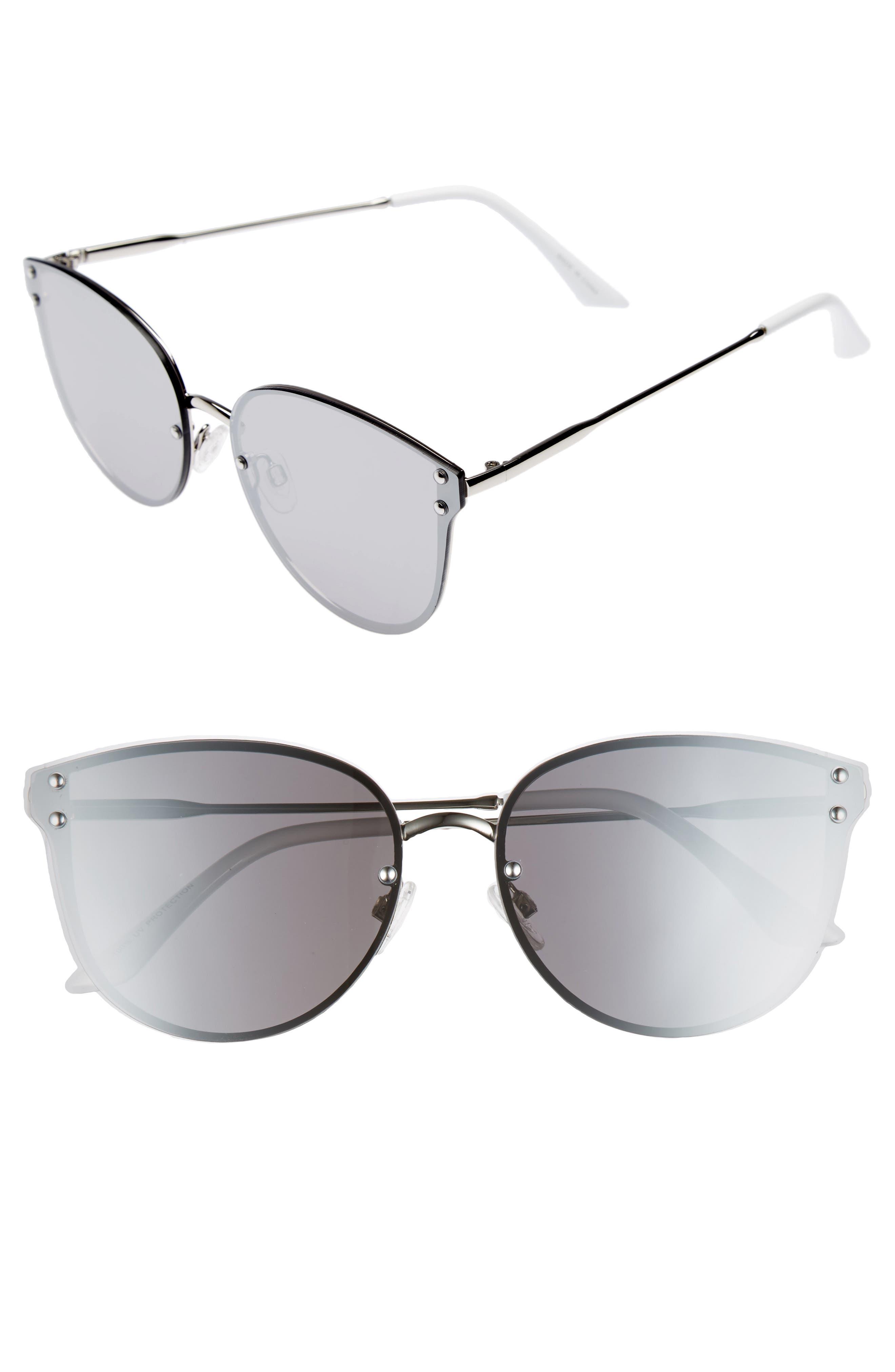 Leith 60mm Cat Eye Sunglasses