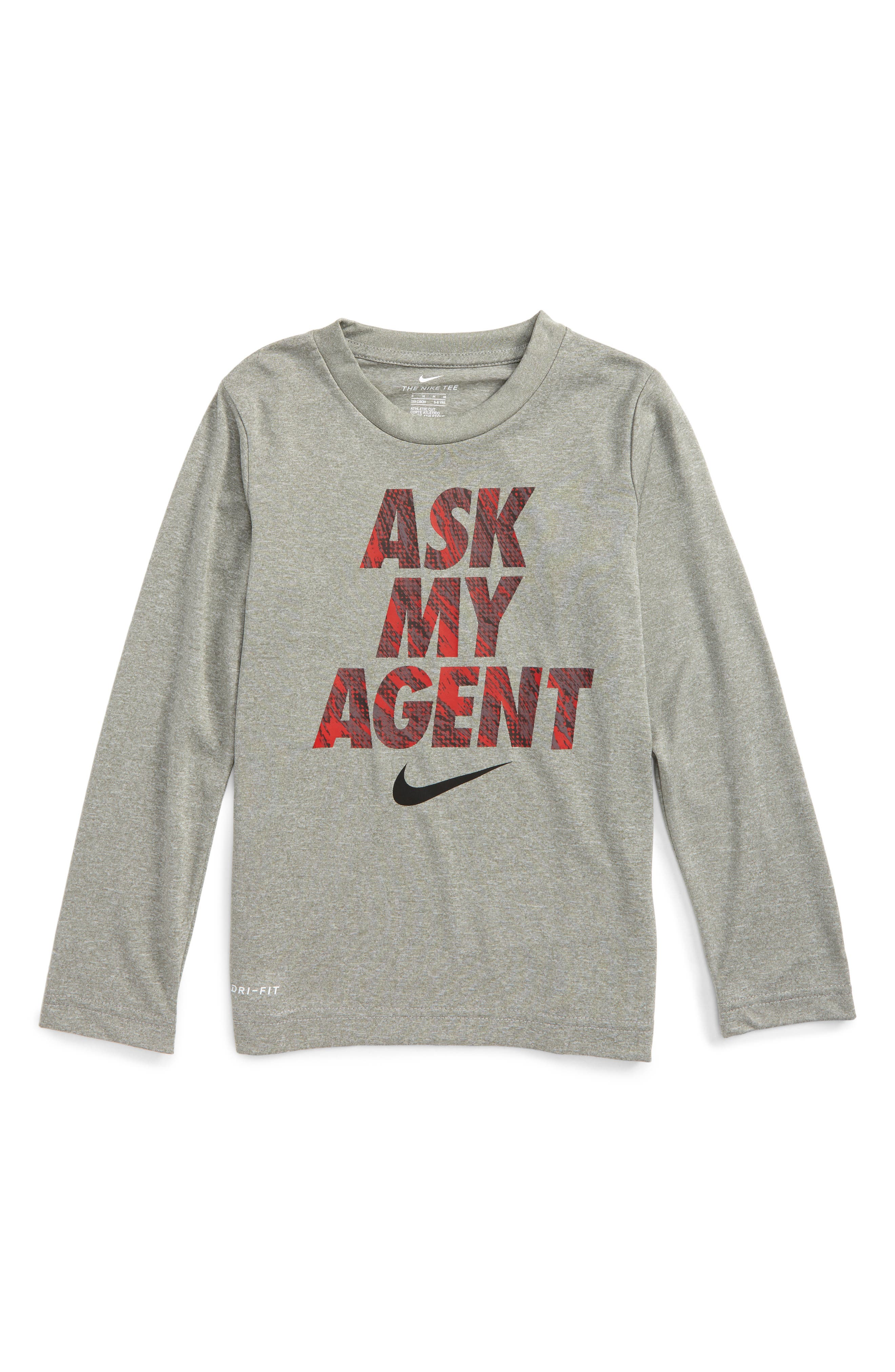 Nike Dry Ask My Agent Graphic T-Shirt (Toddler Boys & Little Boys)