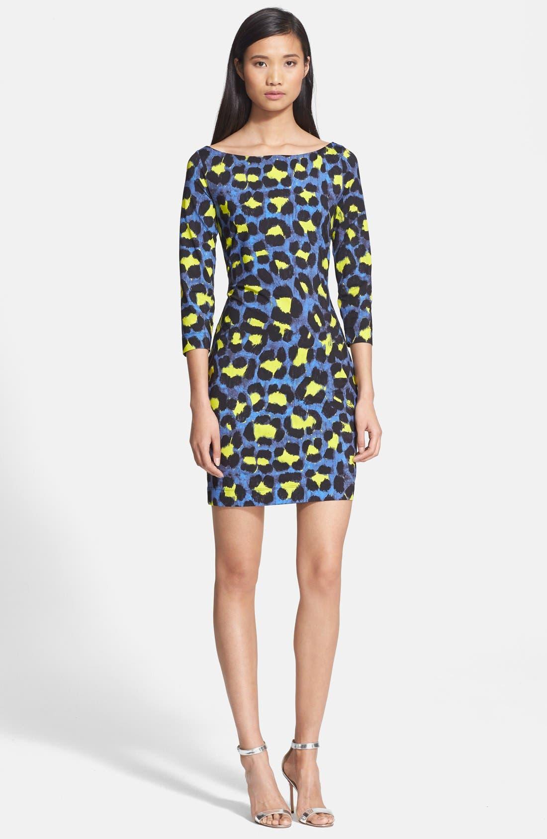 Main Image - Just Cavalli Leopard Print Jersey Dress