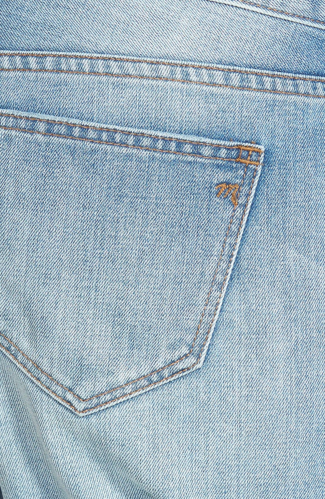 Alternate Image 3  - Madewell 'Rip & Repair' Denim Boyfriend Shorts (Conor)