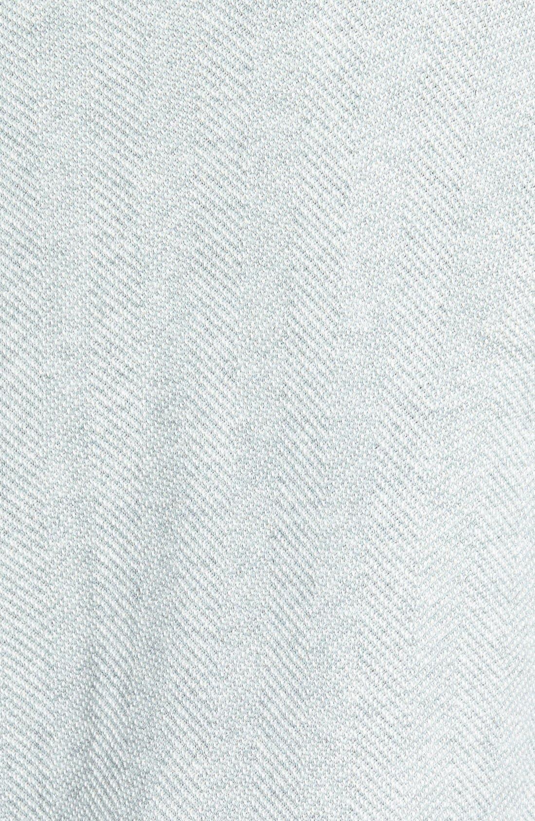Alternate Image 3  - Caslon® Herringbone Pattern Knit Jacket (Regular & Petite)
