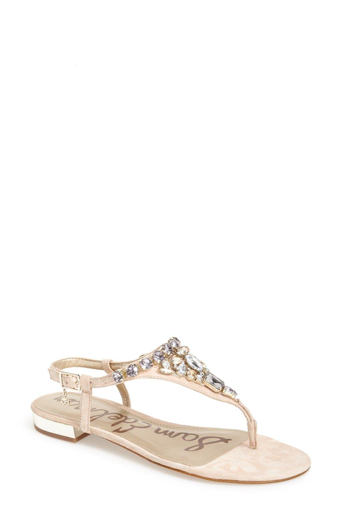 Main Image - Sam Edelman 'Dayton' Embellished Sandal (Women)