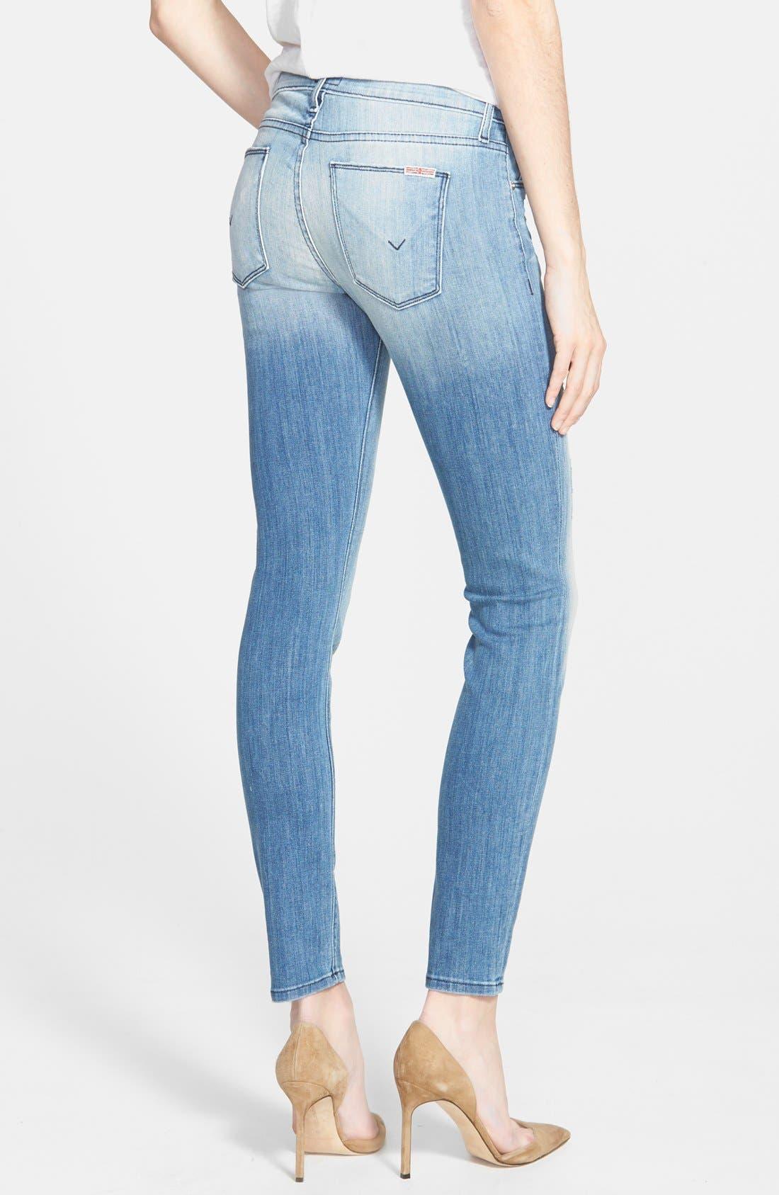 Alternate Image 2  - Hudson Jeans 'Krista' Super Skinny Jeans (Seized)
