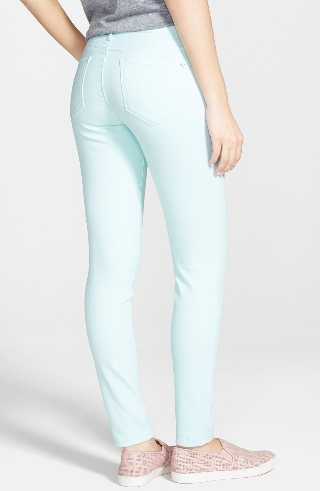 Alternate Image 2  - Vigoss Skinny Jeans (Mint)