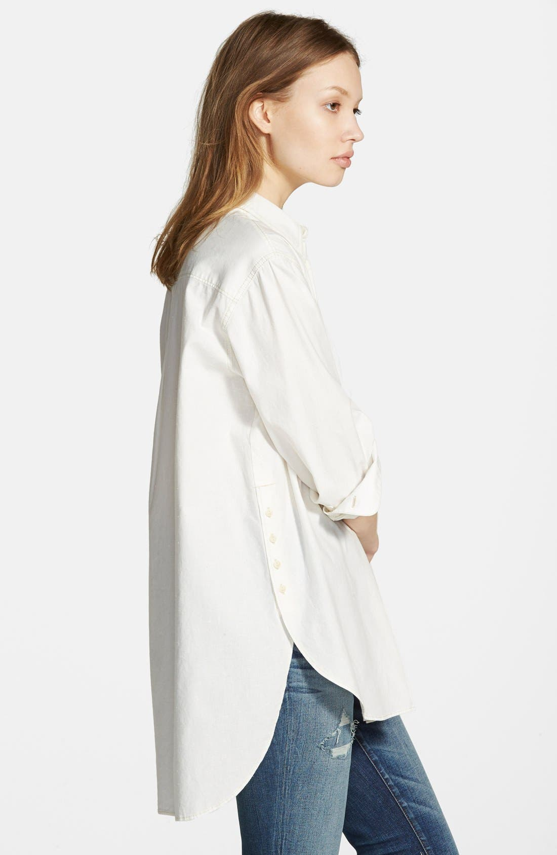 Alternate Image 4  - Madewell Oversized Button Front Tunic