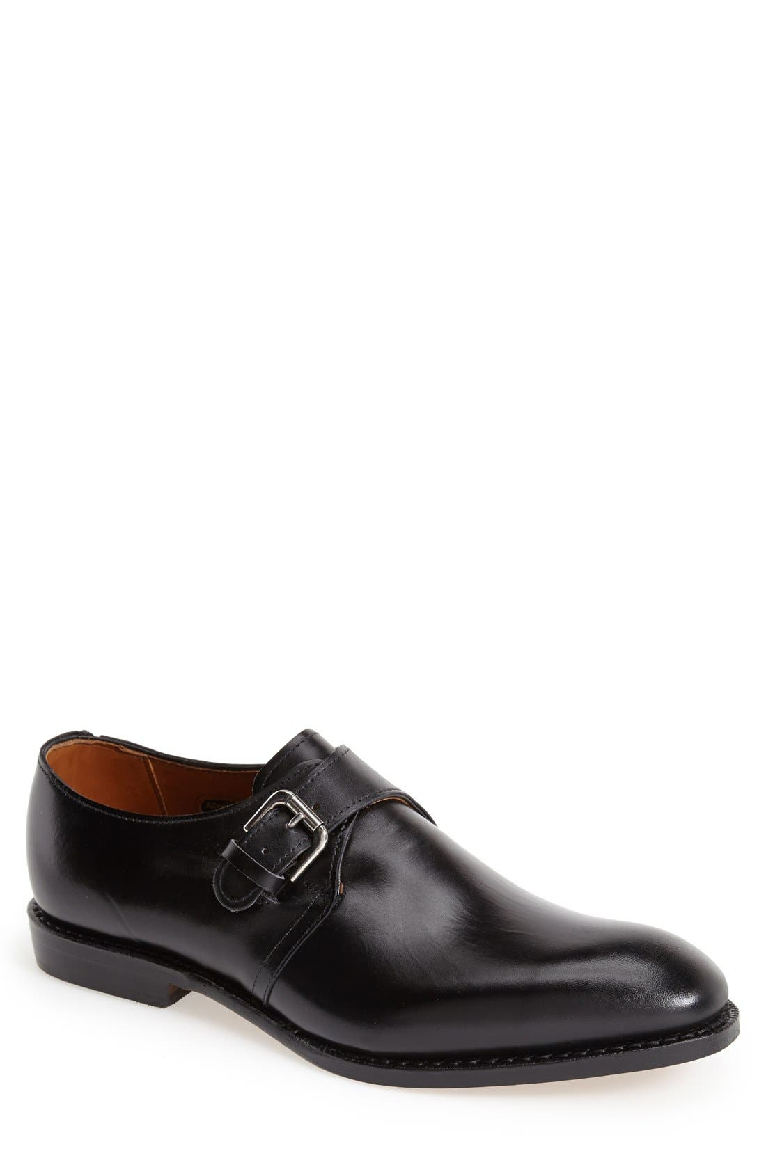 Allen Edmonds Warwick Monk Strap Shoe (Men)