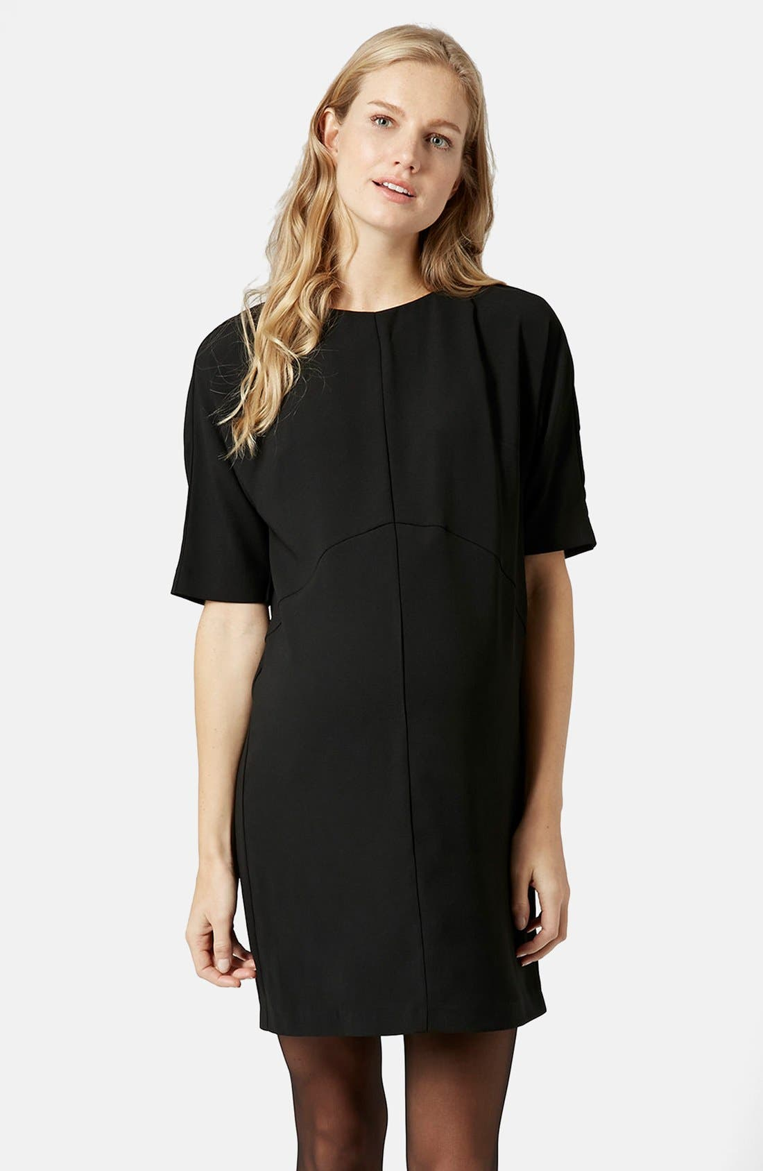 Main Image - Topshop Oversize Maternity Shift Dress