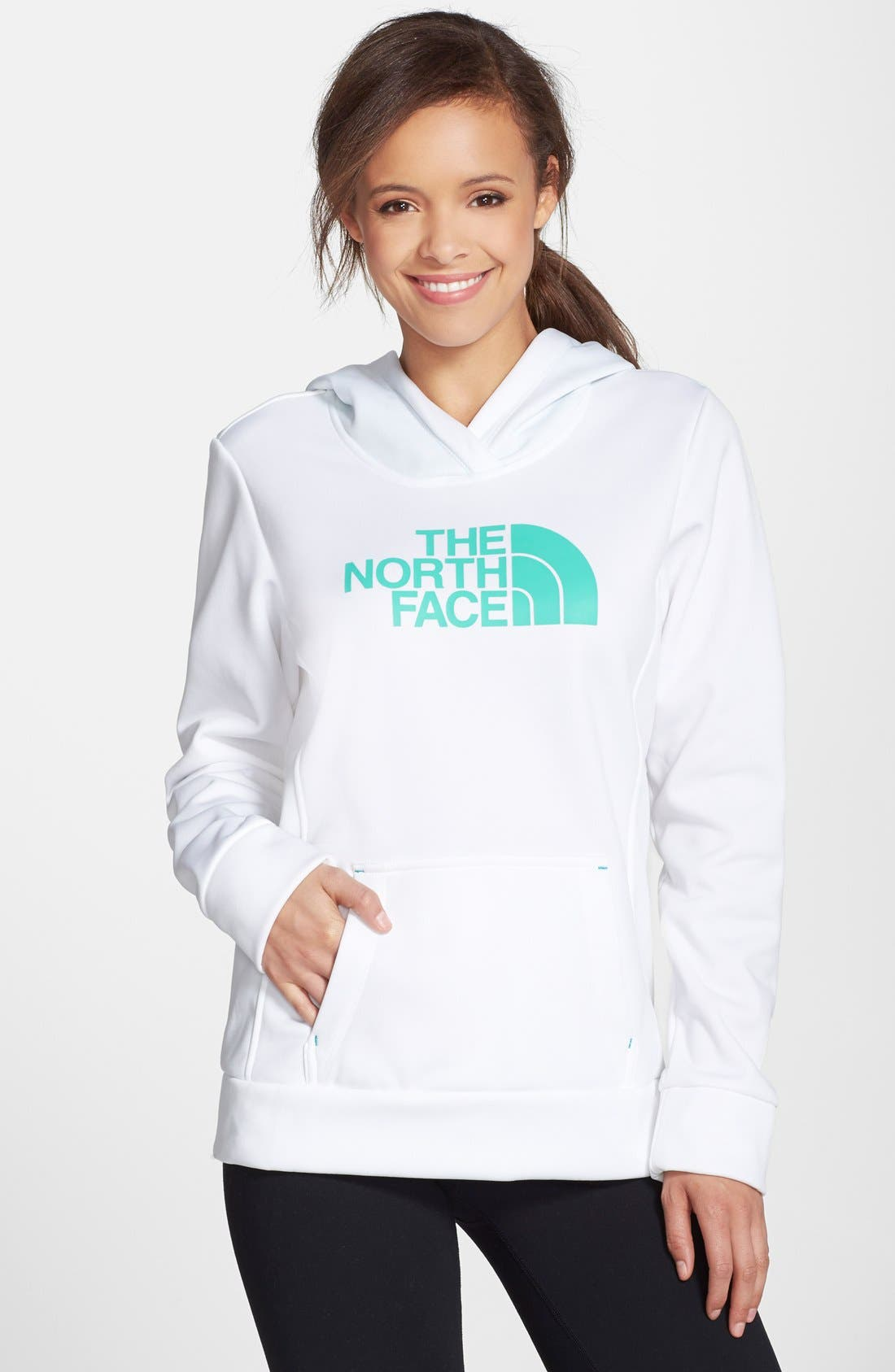 Alternate Image 1 Selected - The North Face 'Fave' Logo Hoodie