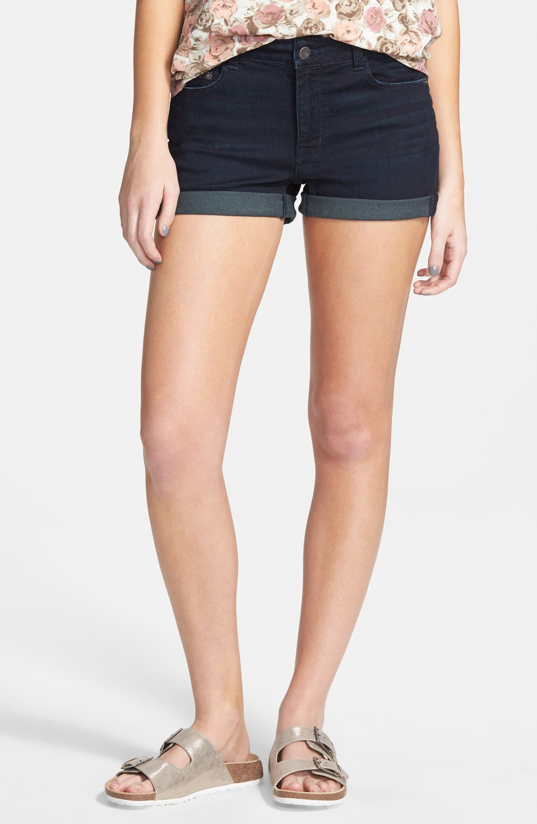 Alternate Image 1 Selected - BP. High Rise Denim Shorts