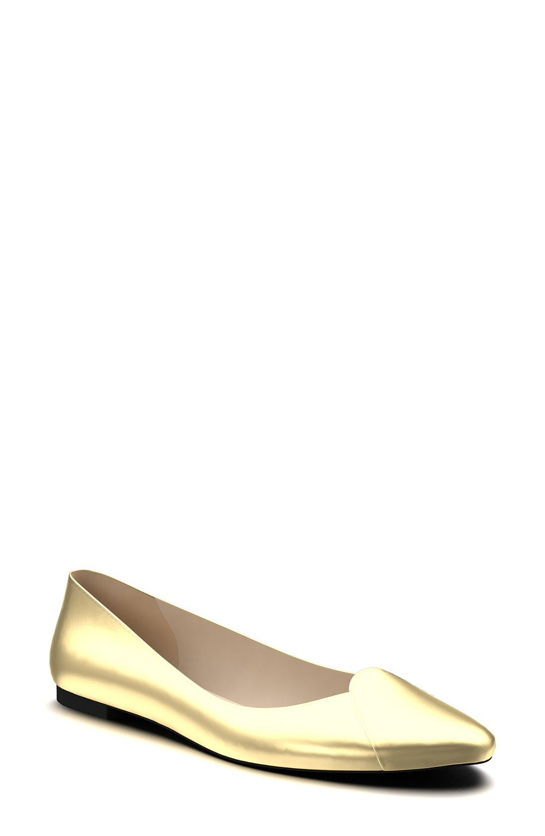 Alternate Image 1 Selected - Shoes of Prey Loafer Ballet Flat (Women) (Nordstrom Exclusive)