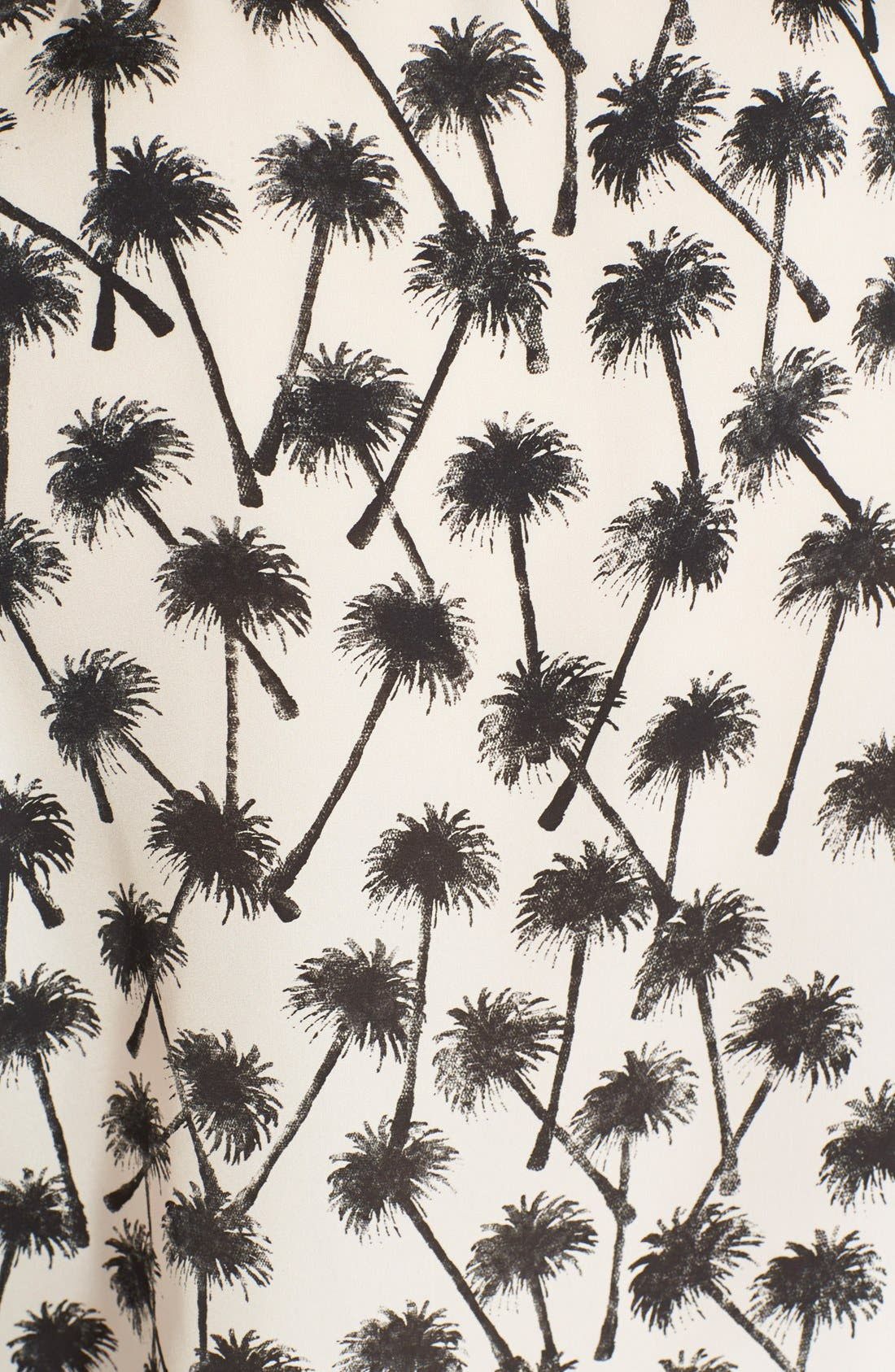 Alternate Image 3  - L'AGENCE Palm Print Shirt