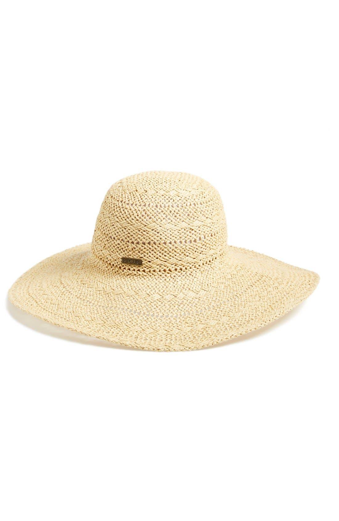 Main Image - Rip Curl 'Dusty' Boho Straw Hat