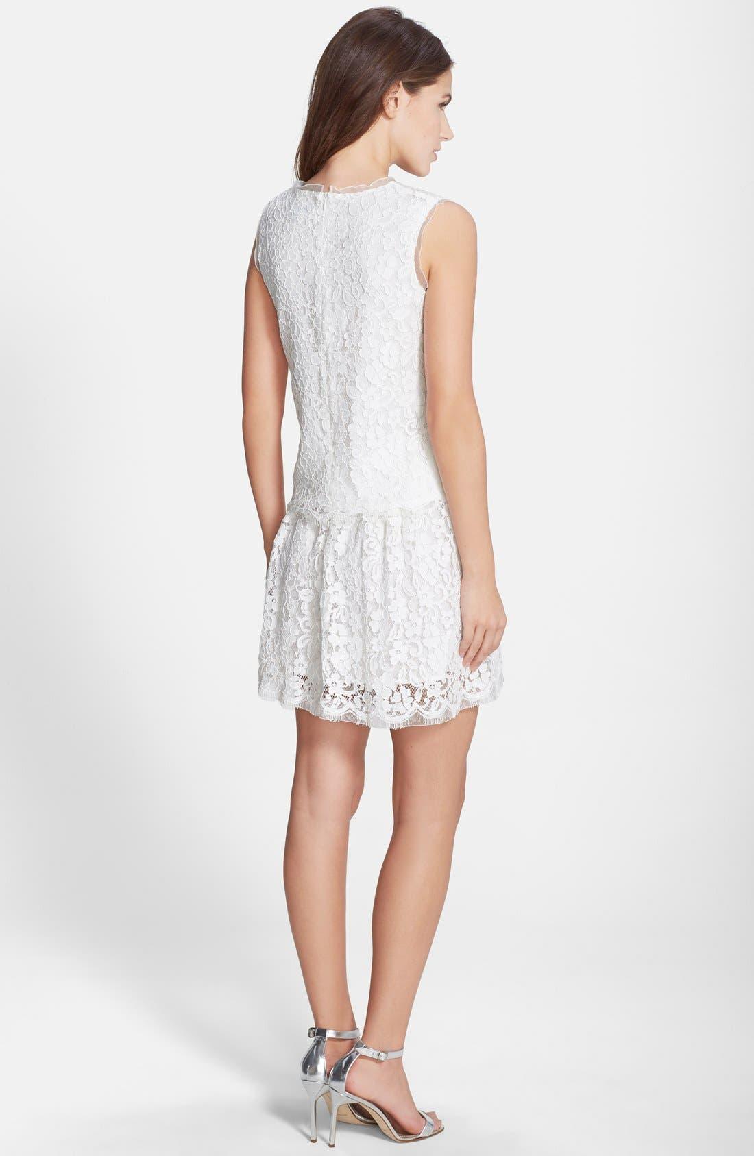 Alternate Image 2  - Elliatt Lace Two-Piece Dress
