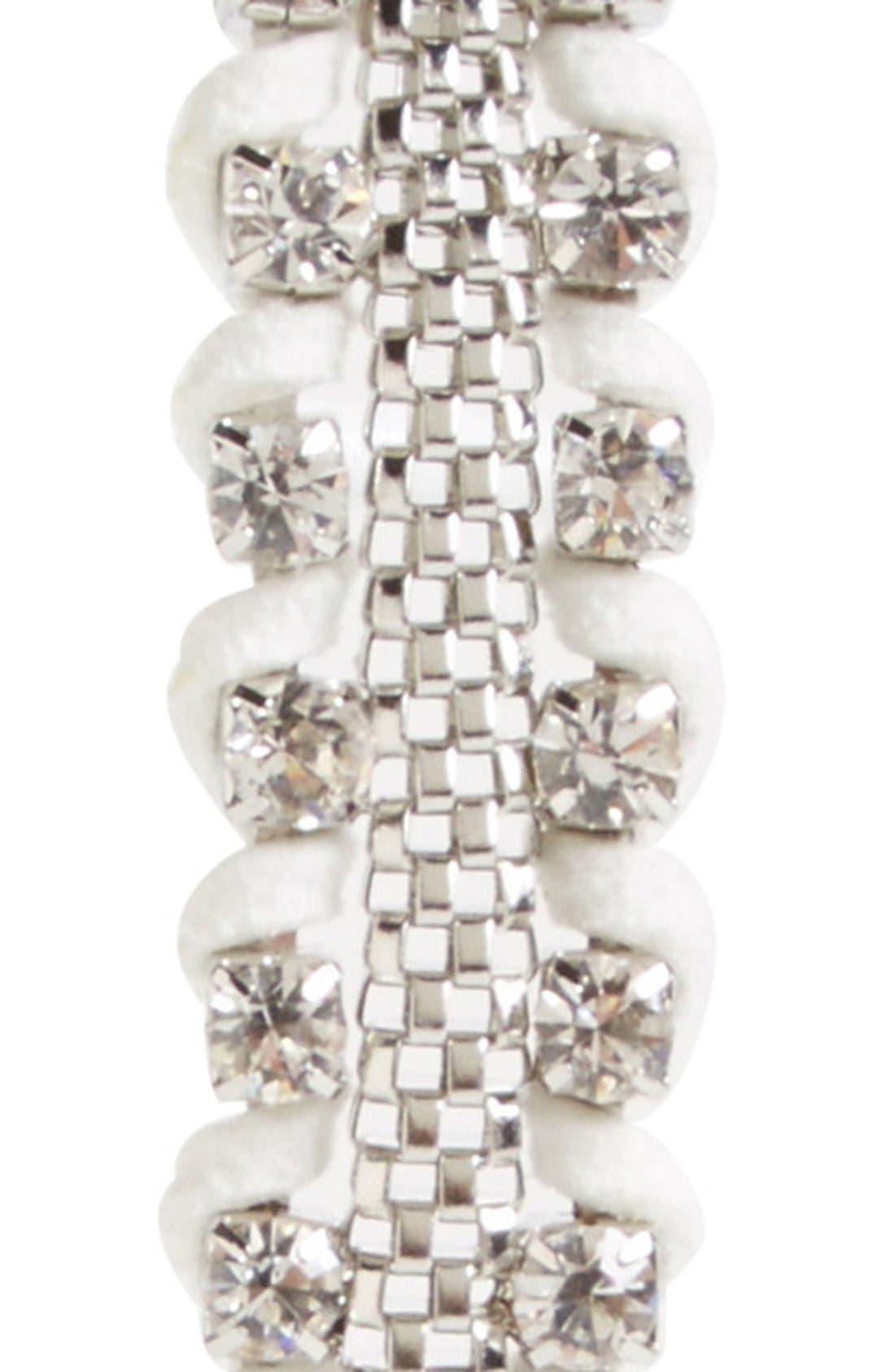 Alternate Image 2  - Lulu Crystal & Chain Headband