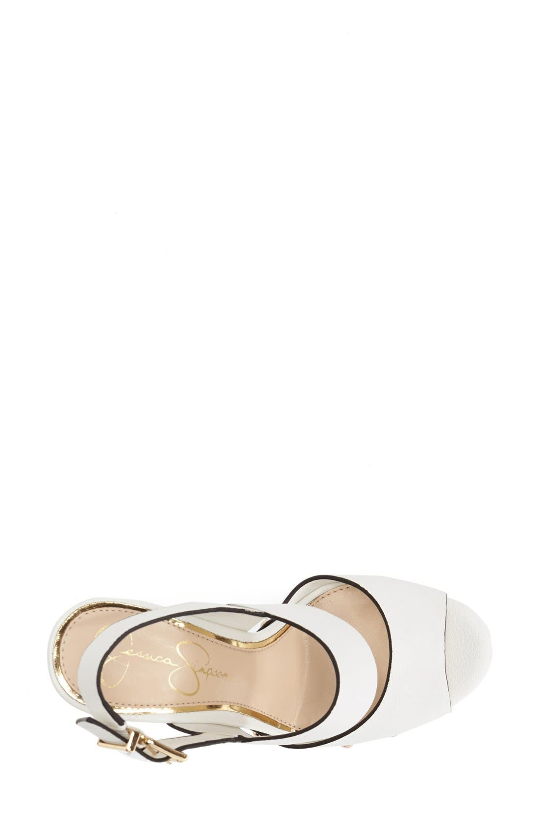 Alternate Image 3  - Jessica Simpson 'Dallis' Platform Sandal (Women)