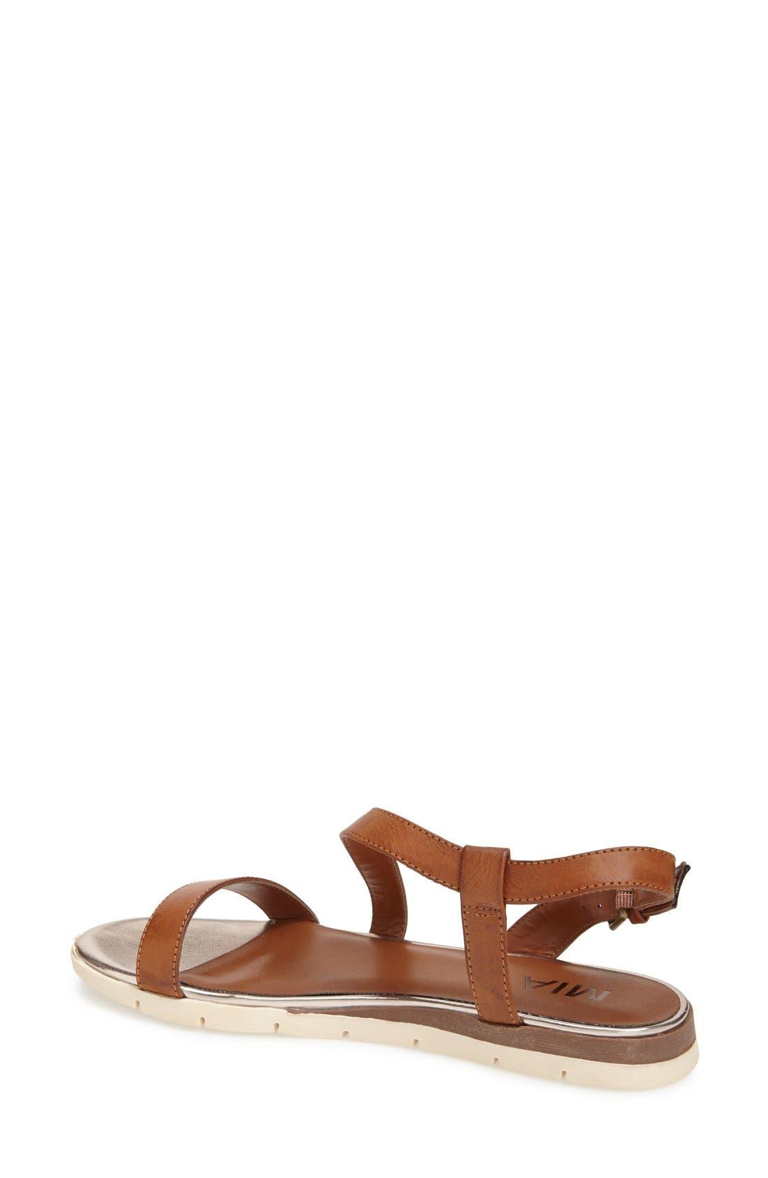 Alternate Image 2  - MIA 'Baseline' Slingback Flat Sandal (Women)