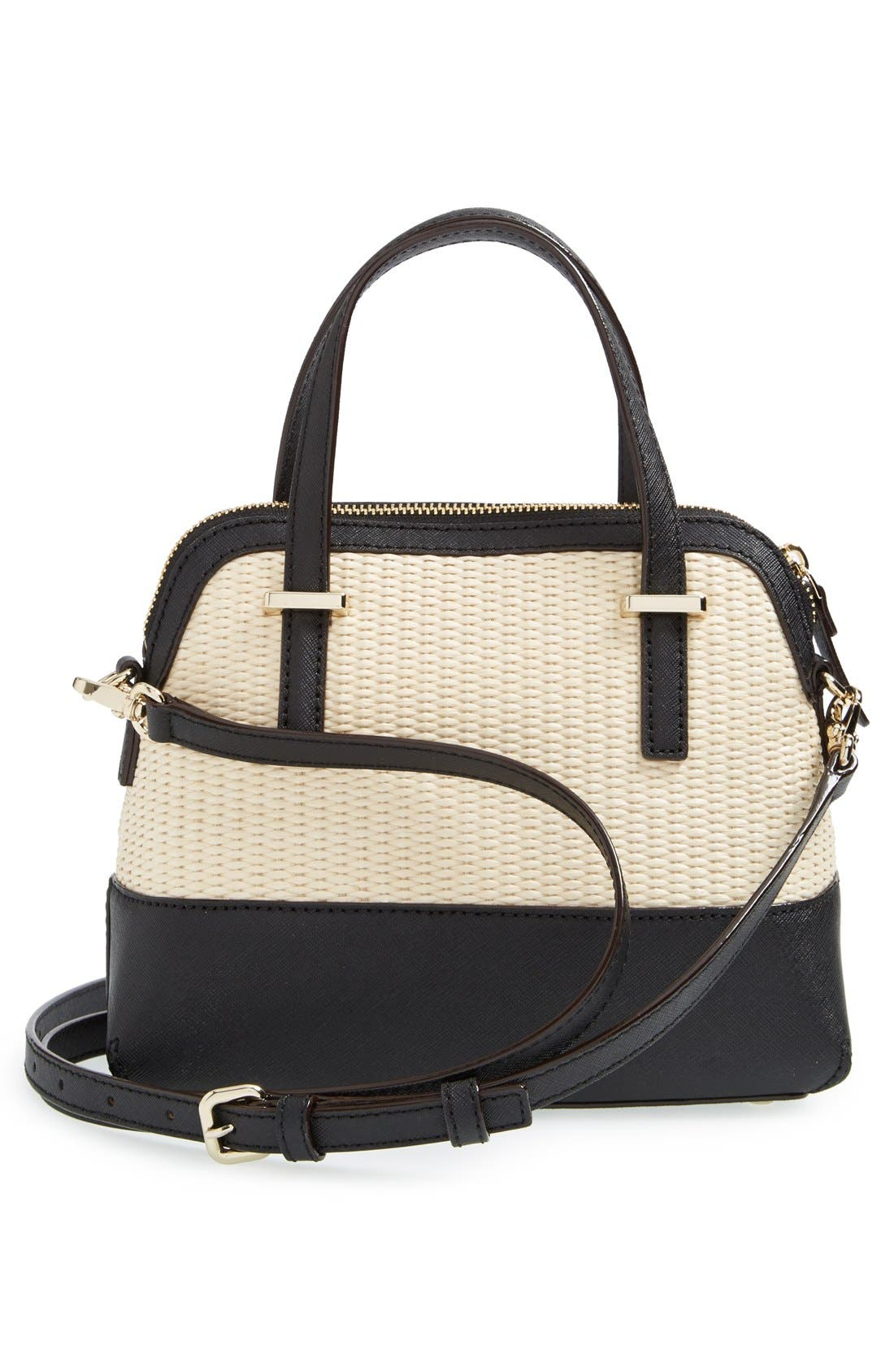 Alternate Image 3  - kate spade new york 'cedar street straw - small maise' satchel