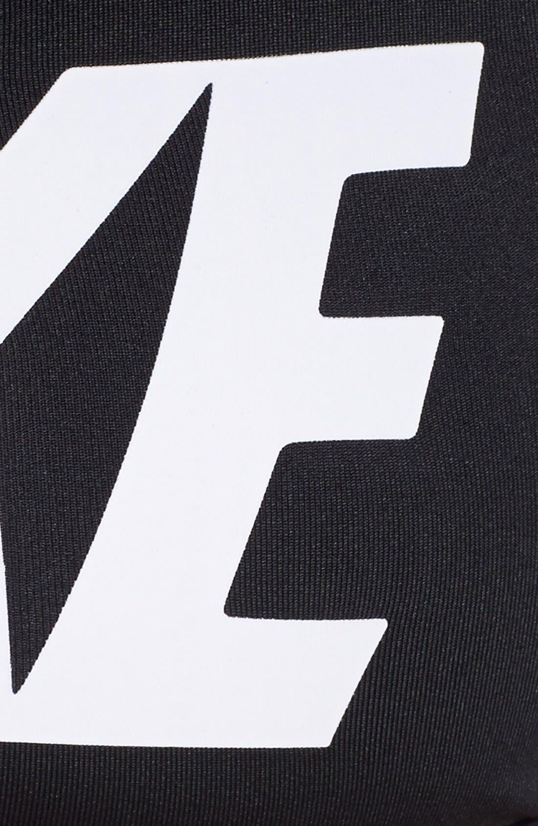 Alternate Image 4  - Nike 'Pro Classic' Logo Dri-FIT Sports Bra