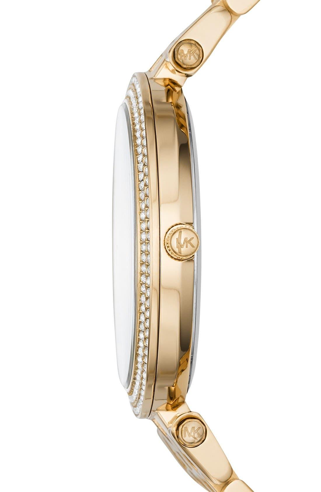 Alternate Image 2  - Michael Kors 'Darci' Round Bracelet Watch, 39mm