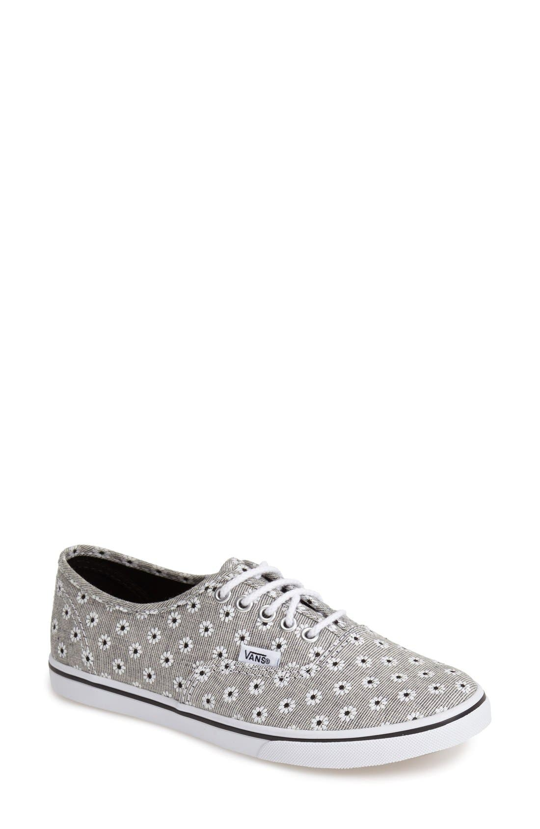 Alternate Image 1 Selected - Vans 'Authentic - Chambray' Sneaker (Women)