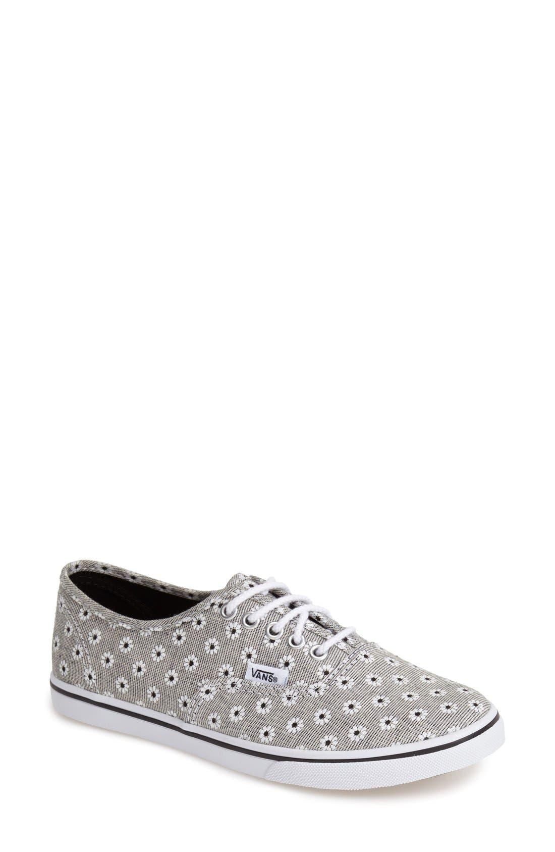 Main Image - Vans 'Authentic - Chambray' Sneaker (Women)
