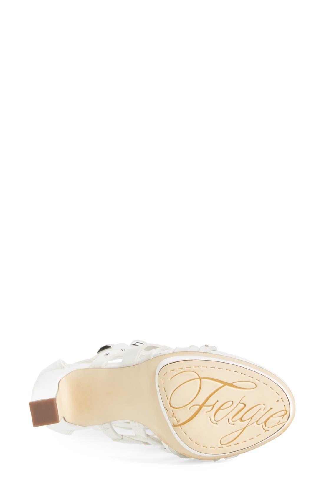 Alternate Image 4  - Fergie 'Bonnie' Studded Strappy Sandal (Women)