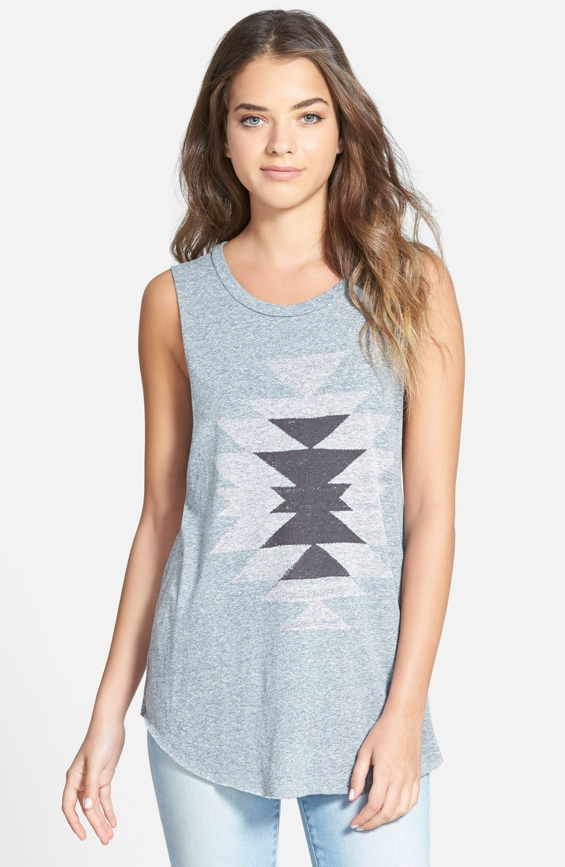 Main Image - Project Social T Geo Graphic Muscle Tank