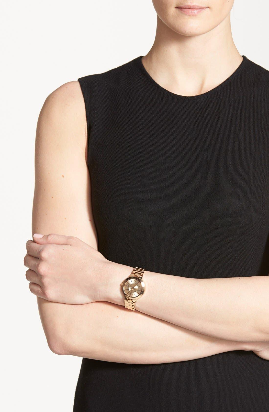 Alternate Image 3  - Anne Klein Round Bracelet Watch, 32mm