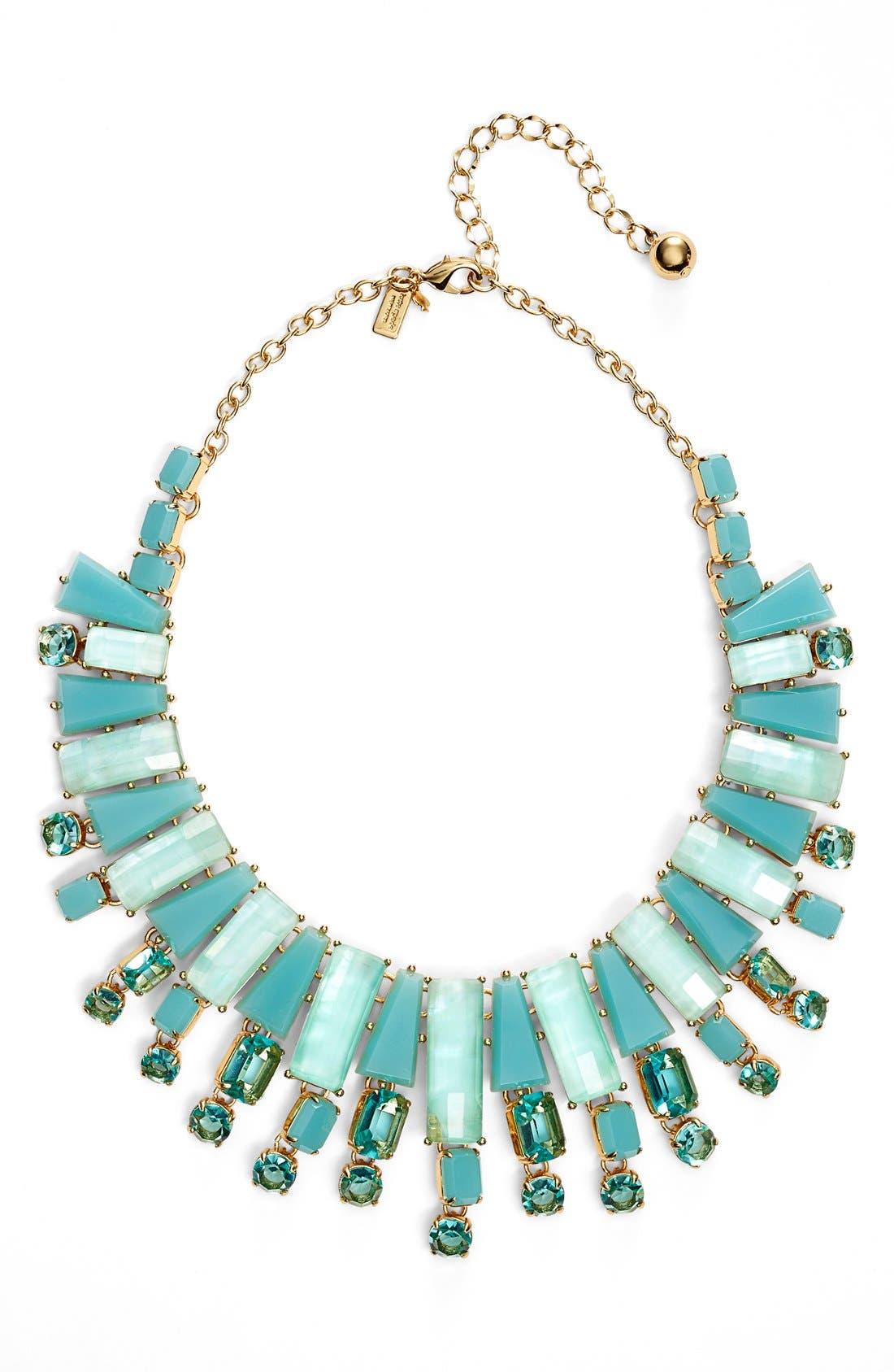 Main Image - kate spade new york 'beach gem' statement necklace