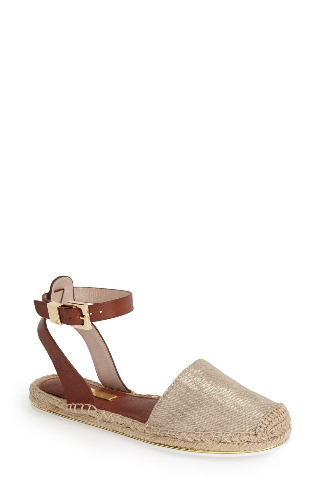 Alternate Image 1 Selected - Louise et Cie 'Frida' Ankle Strap Espadrille Flat (Women)