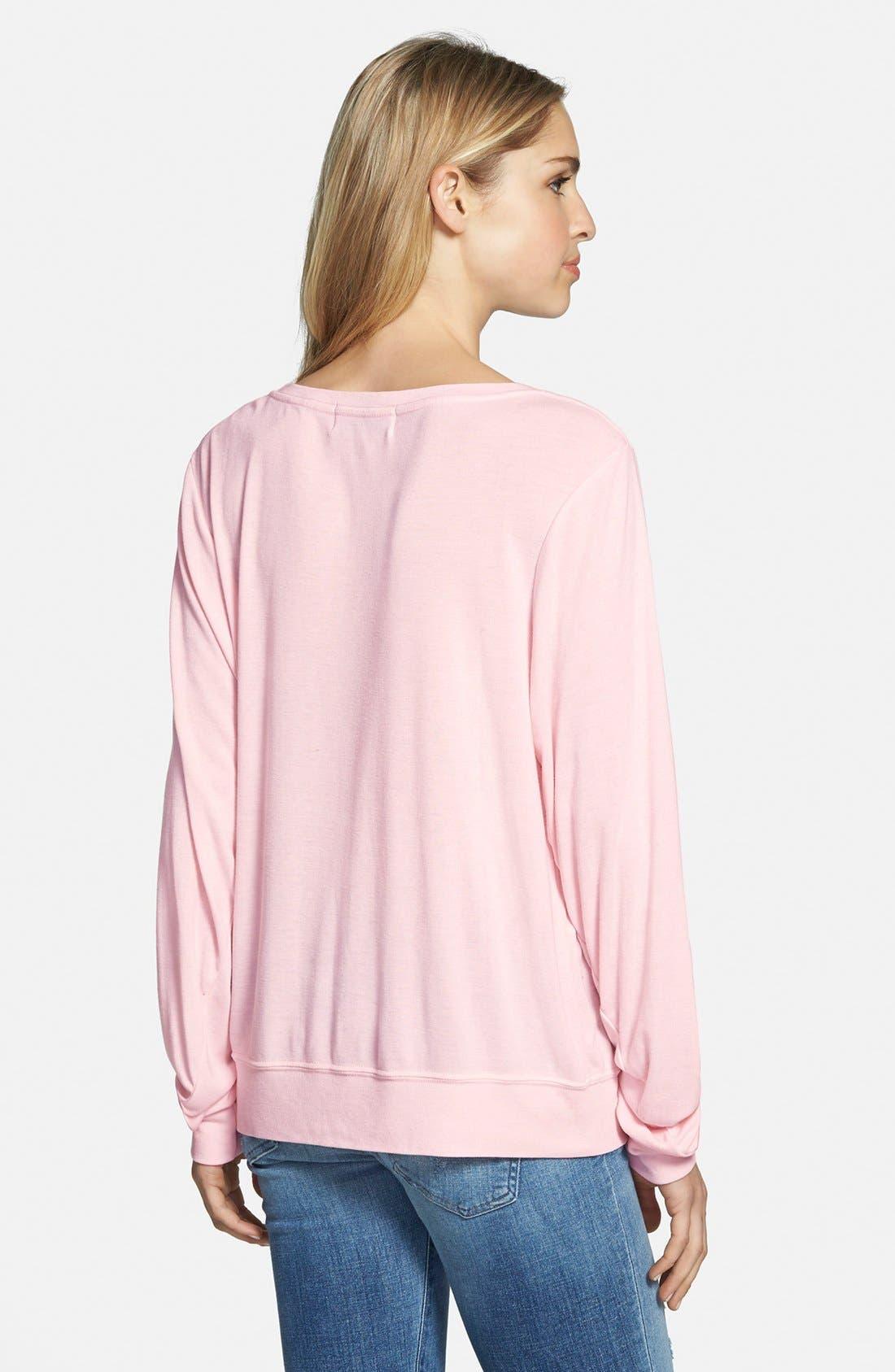 Alternate Image 2  - Wildfox 'Smart Blonde' Sweatshirt