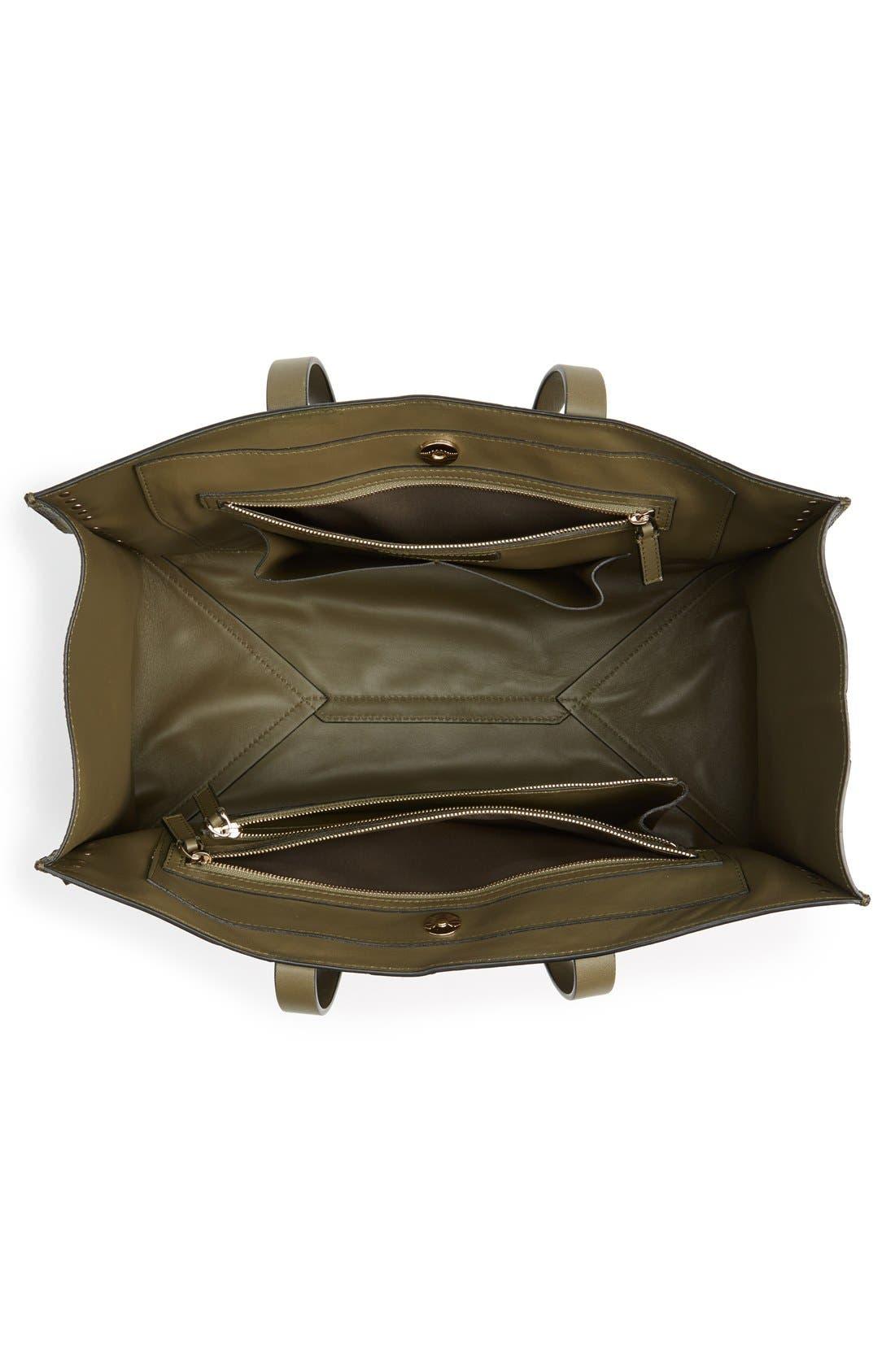 Alternate Image 4  - Valentino Rockstud Canvas & Leather Camo Tote