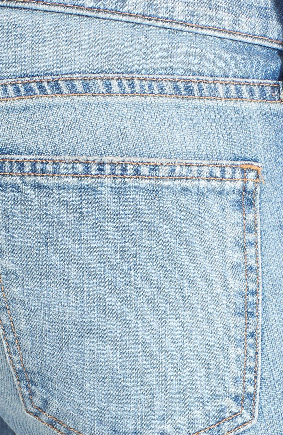 Alternate Image 3  - Current/Elliott Bell Bottom Jeans (Heirloom)